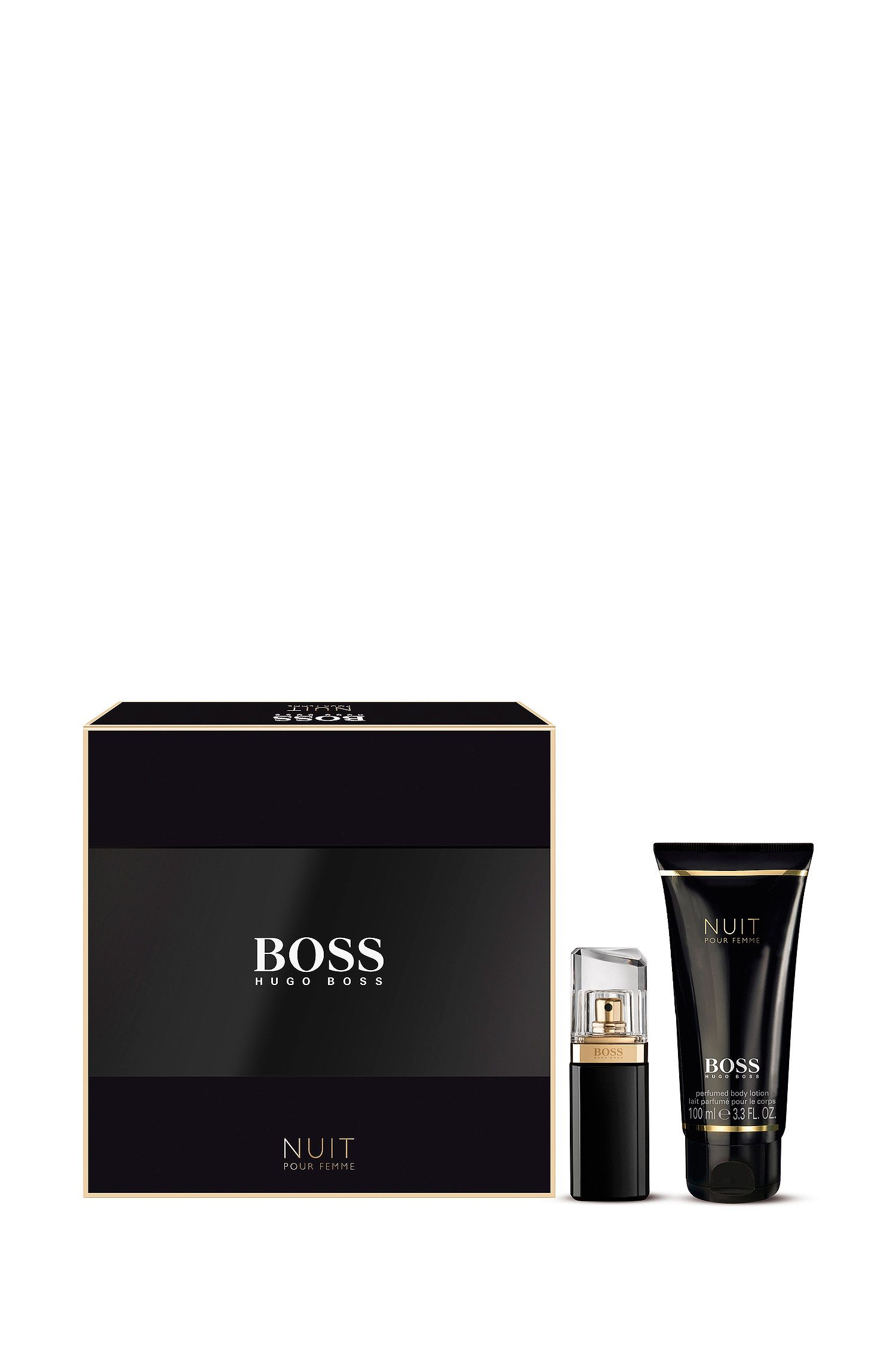 BOSS Nuit Geschenkset mit Eau de Parfum und Bodylotion