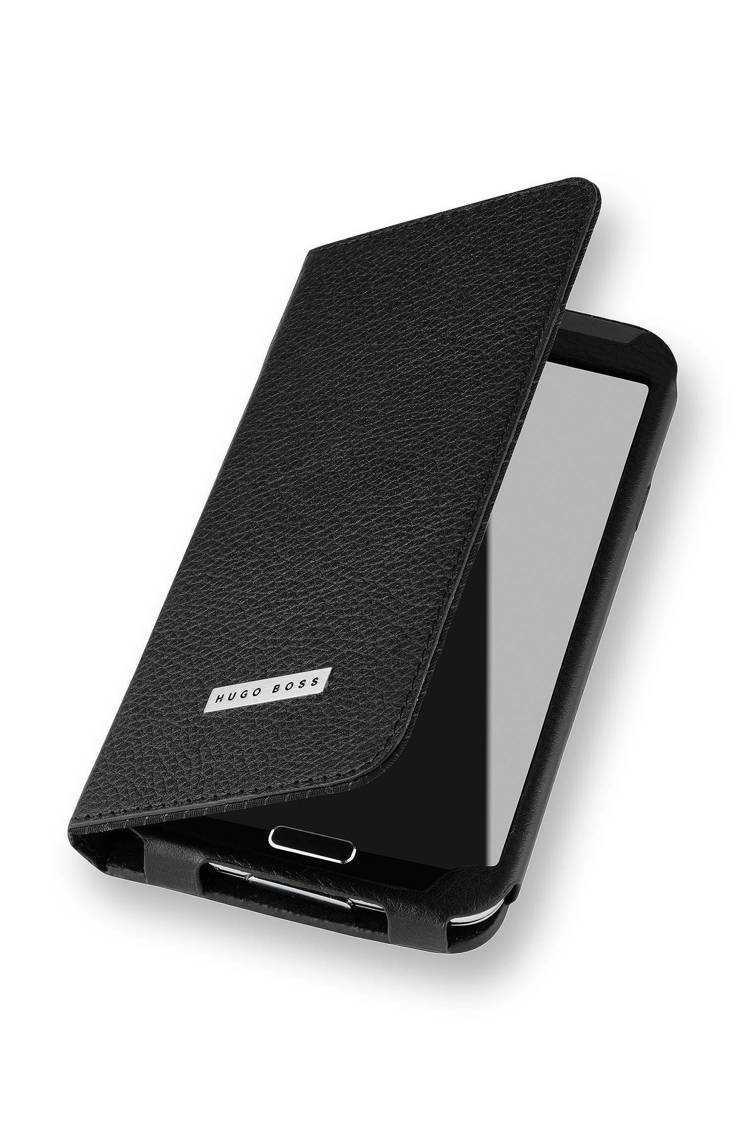 Bookletcase van leer voor Samsung Galaxy S5
