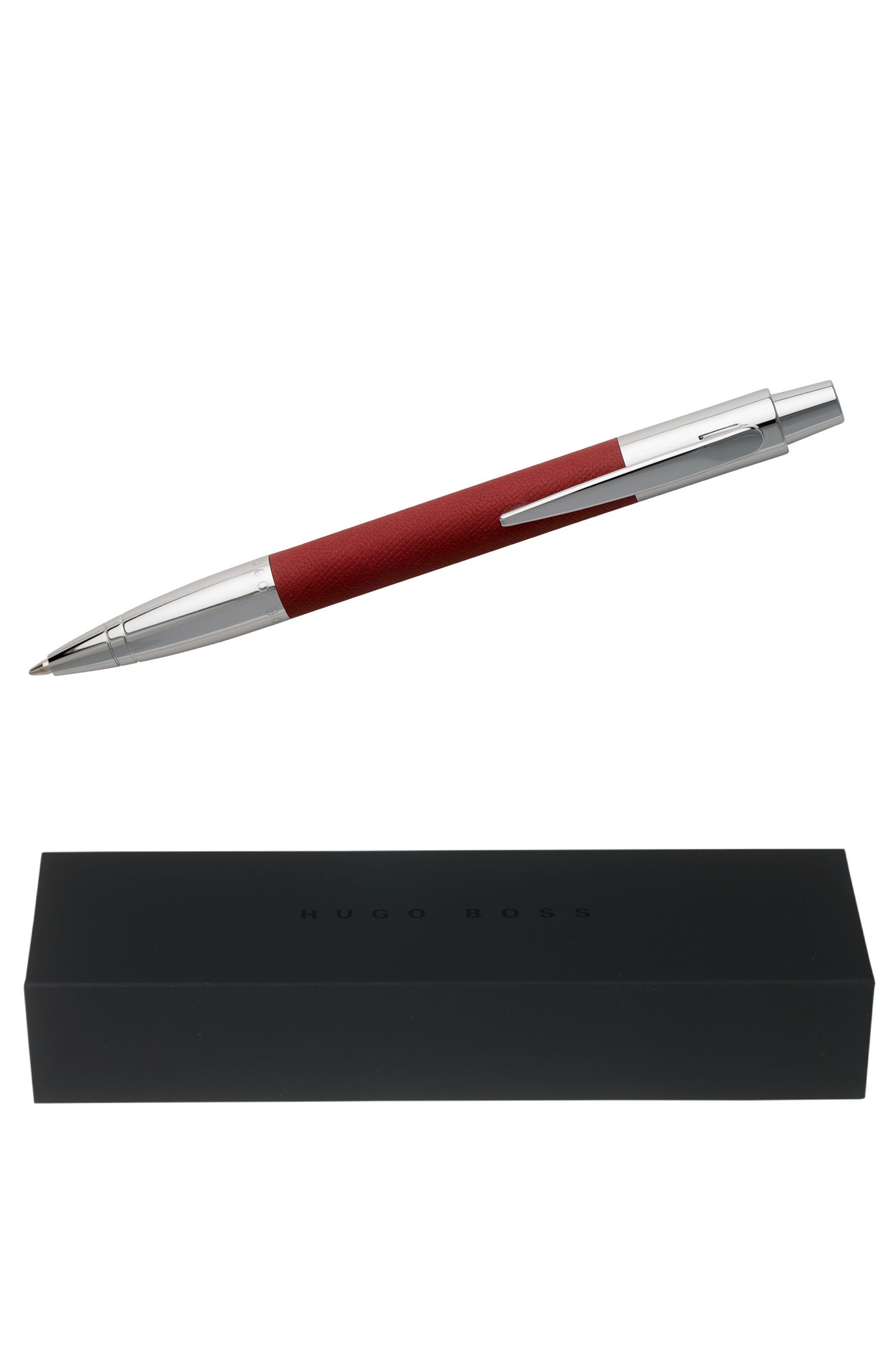 Stylos à bille : « Saffiano Red »