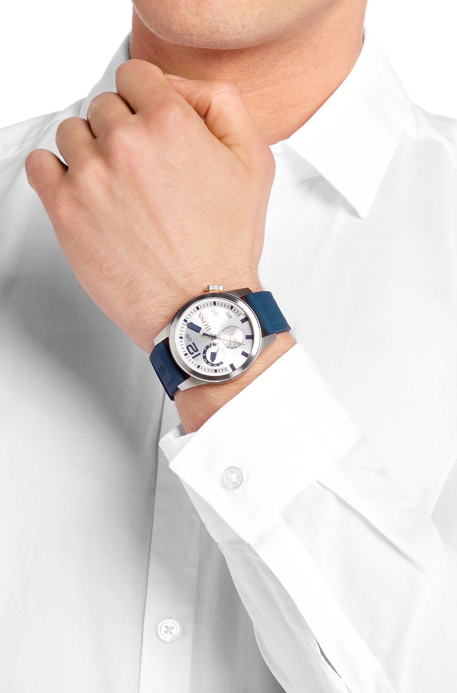 Montre multifonctionnelle «HOPARIS» à bracelet en silicone