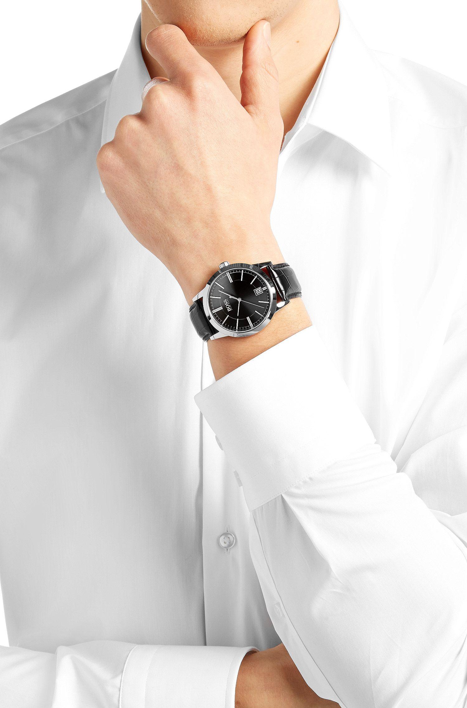 Armbanduhr ´HBSUCES` mit Quarz-Werk