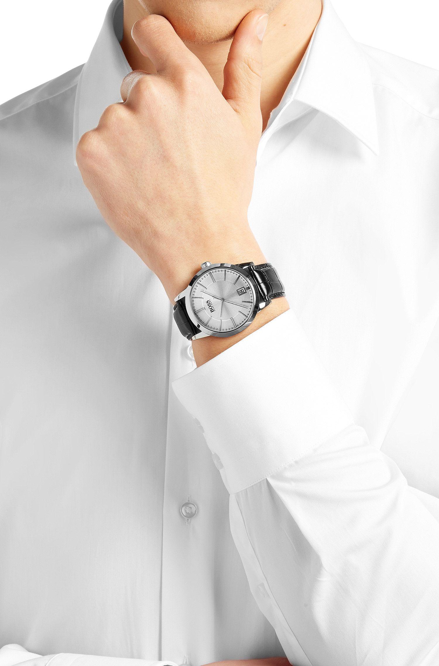 Montre-bracelet «HBSUCES» avec mouvement à quartz