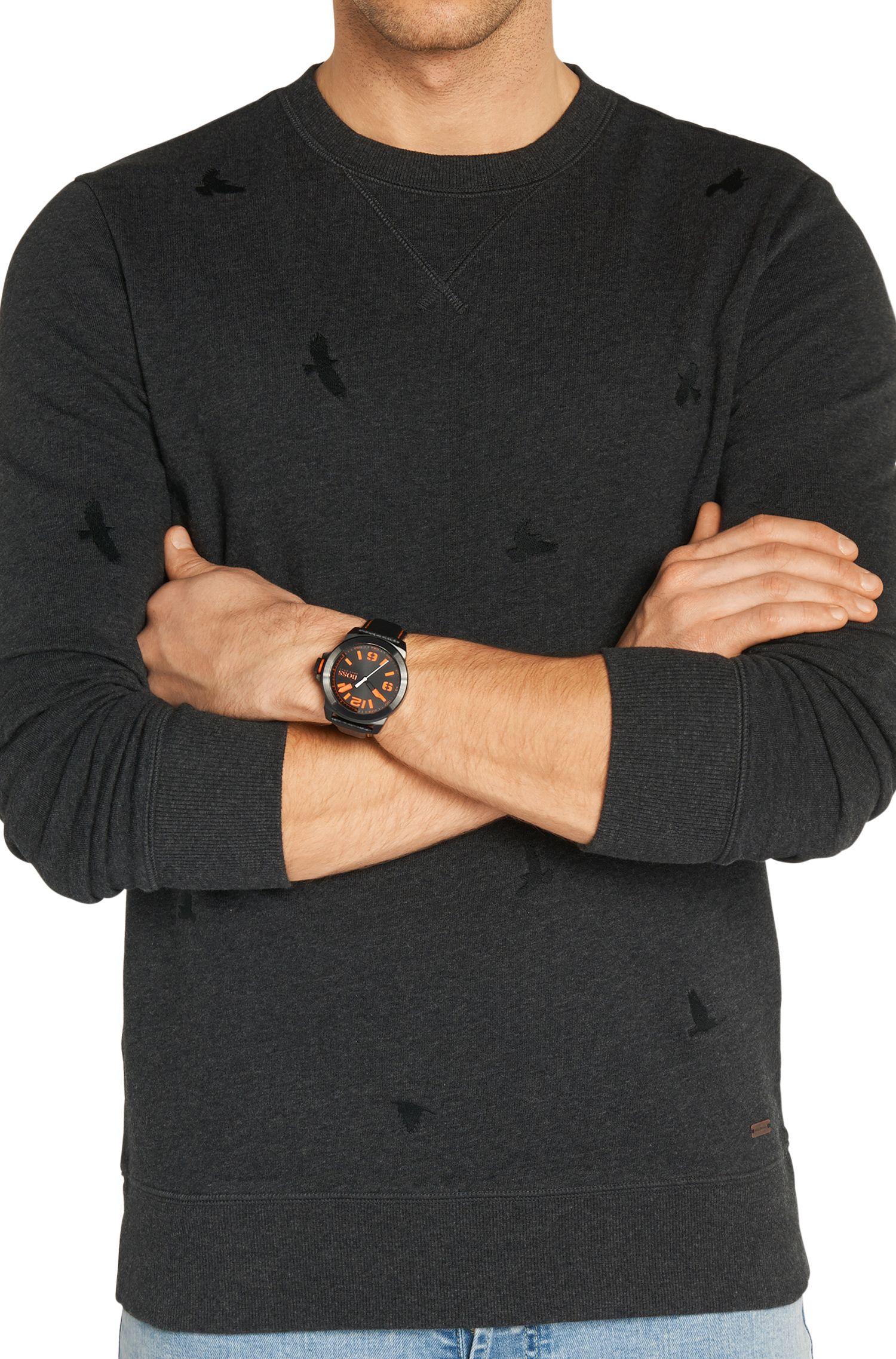 Armbanduhr mit Edelstahlgehäuse:'HB2381'