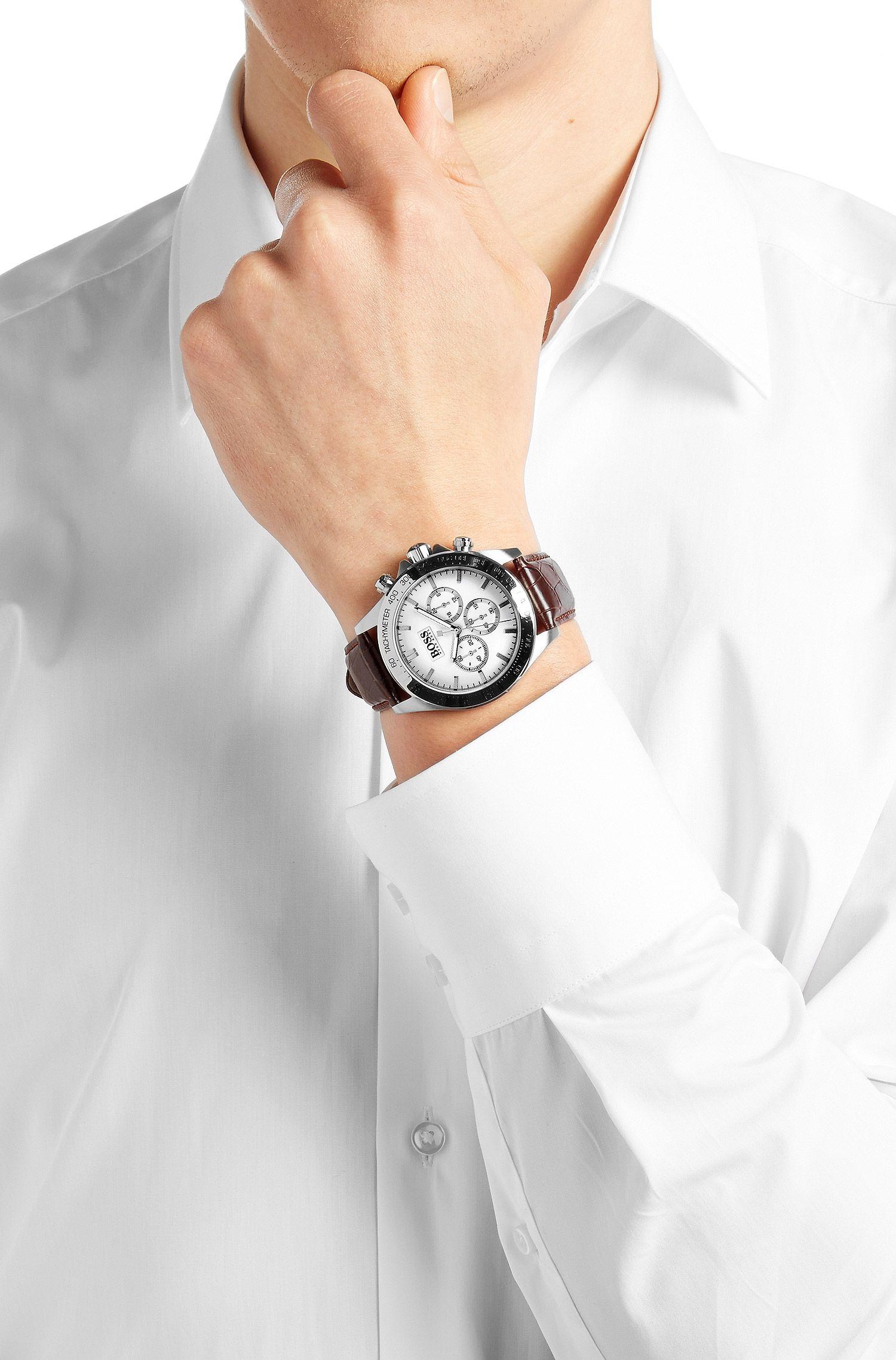 Chronographe «HBIKON» avec mouvement à quartz