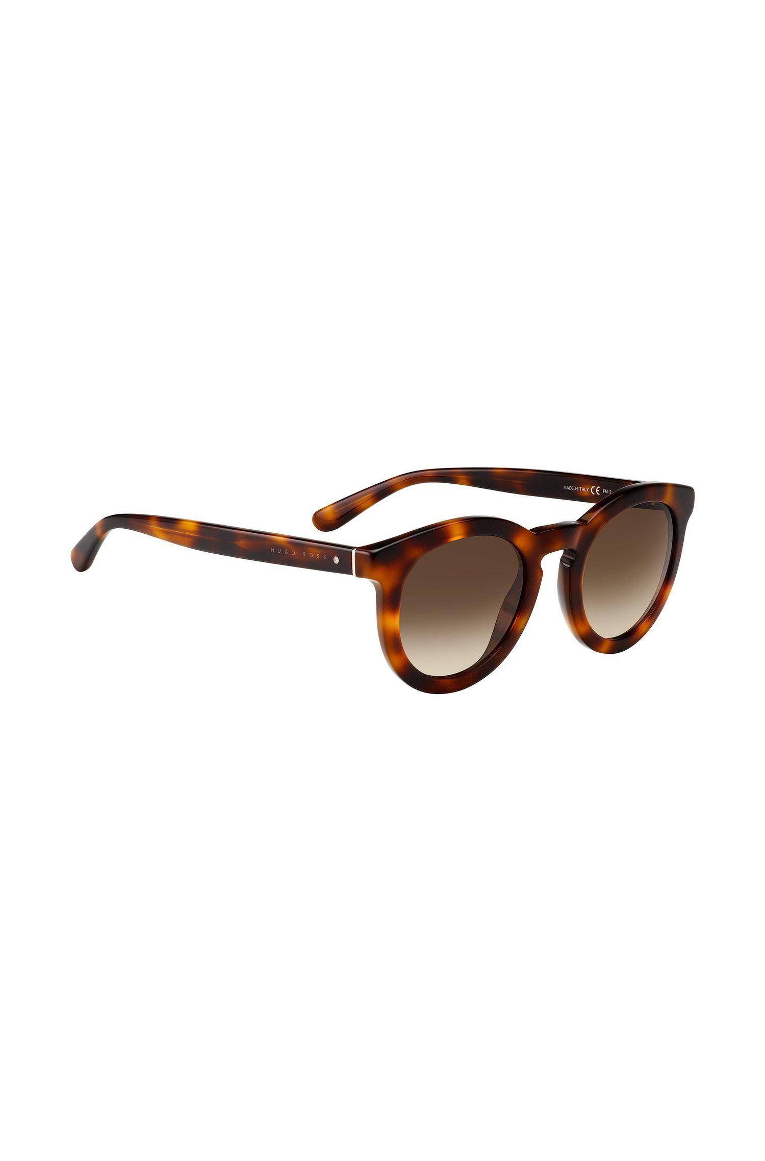 Sonnenbrille mit gemusterter Vollrandfassung: '0742/S'