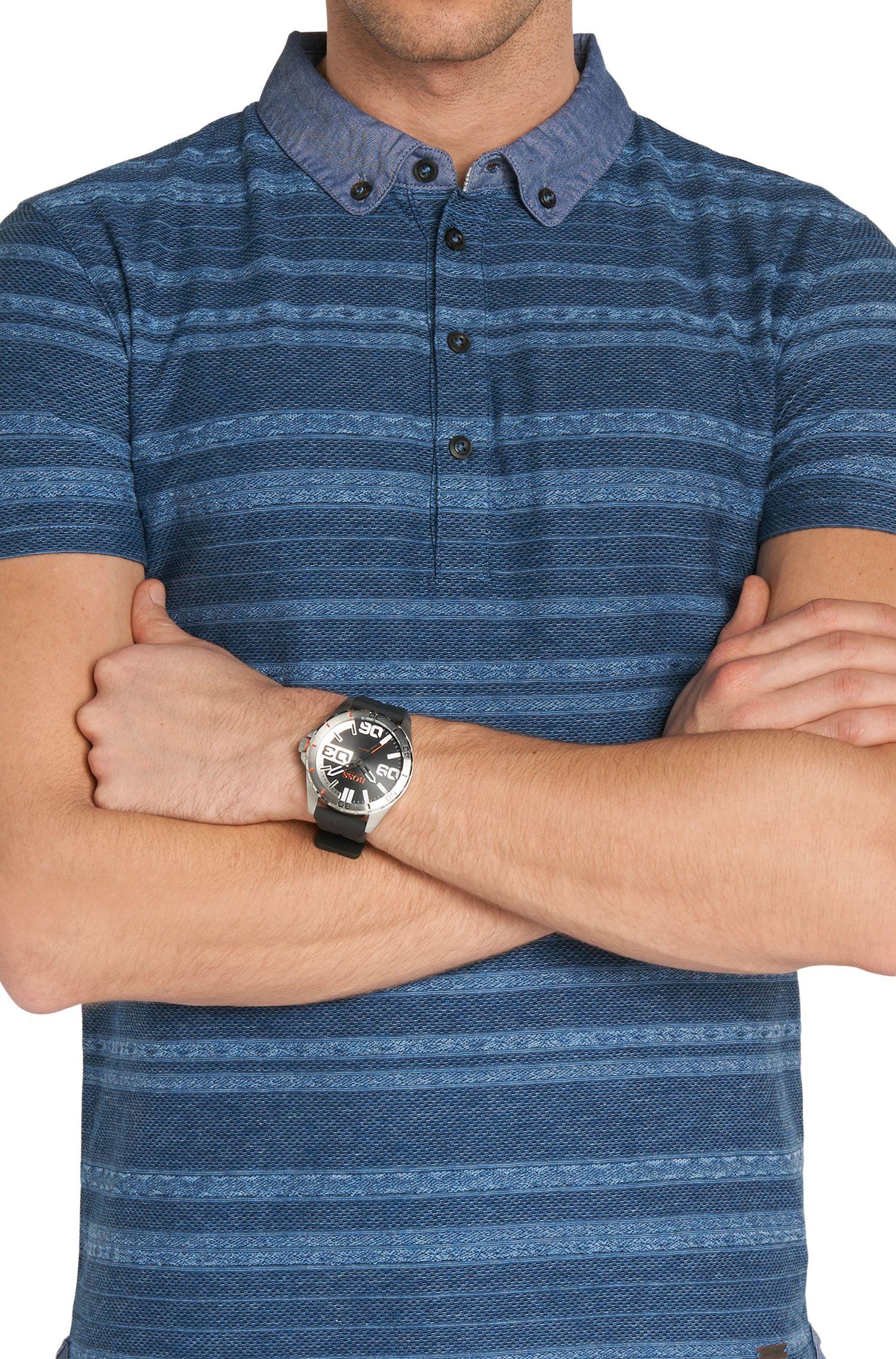 Armbanduhr mit Edelstahlgehäuse: 'HOBERLI'