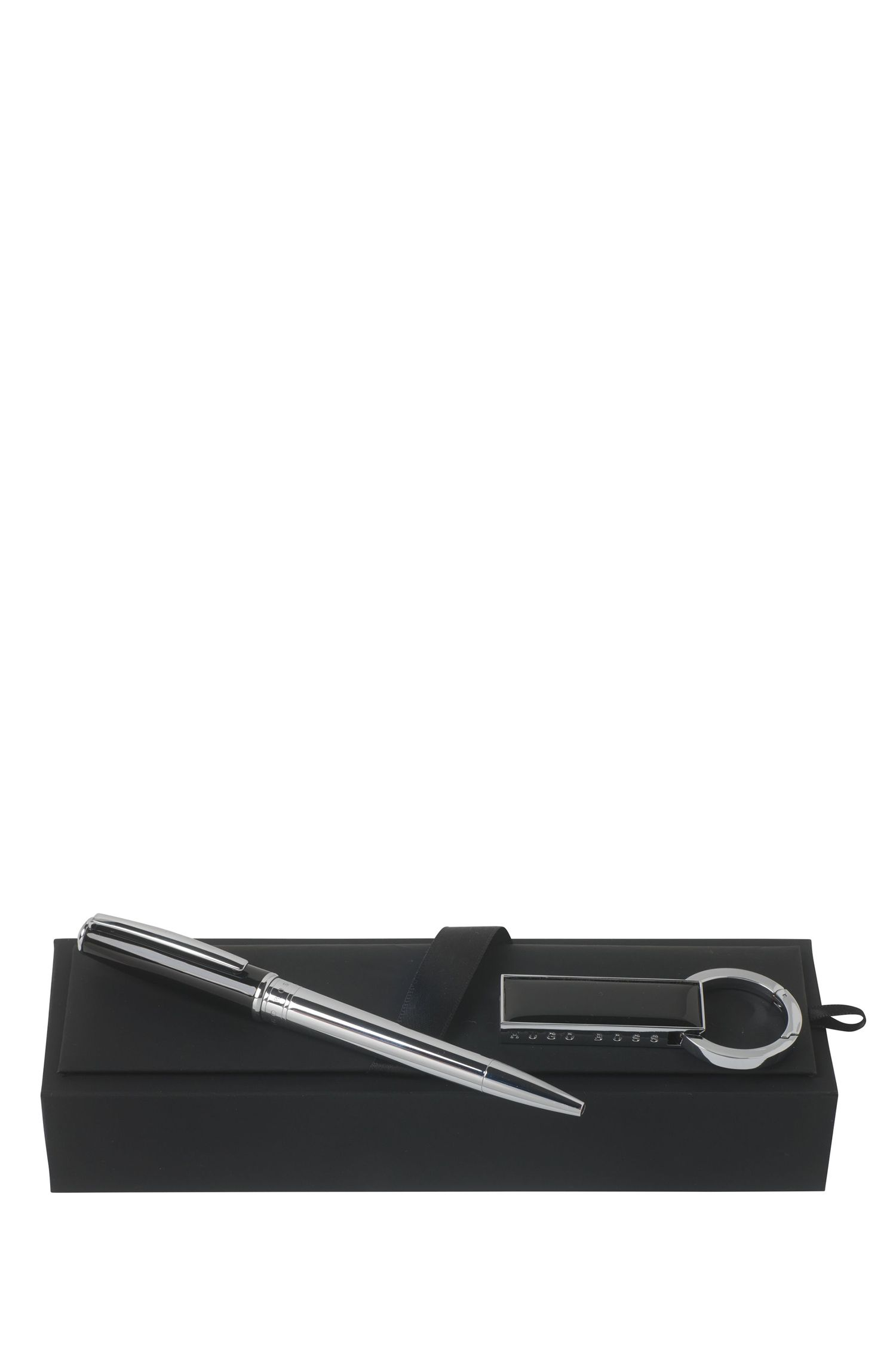 Set aus USB-Stick und Kugelschreiber: 'Essential'