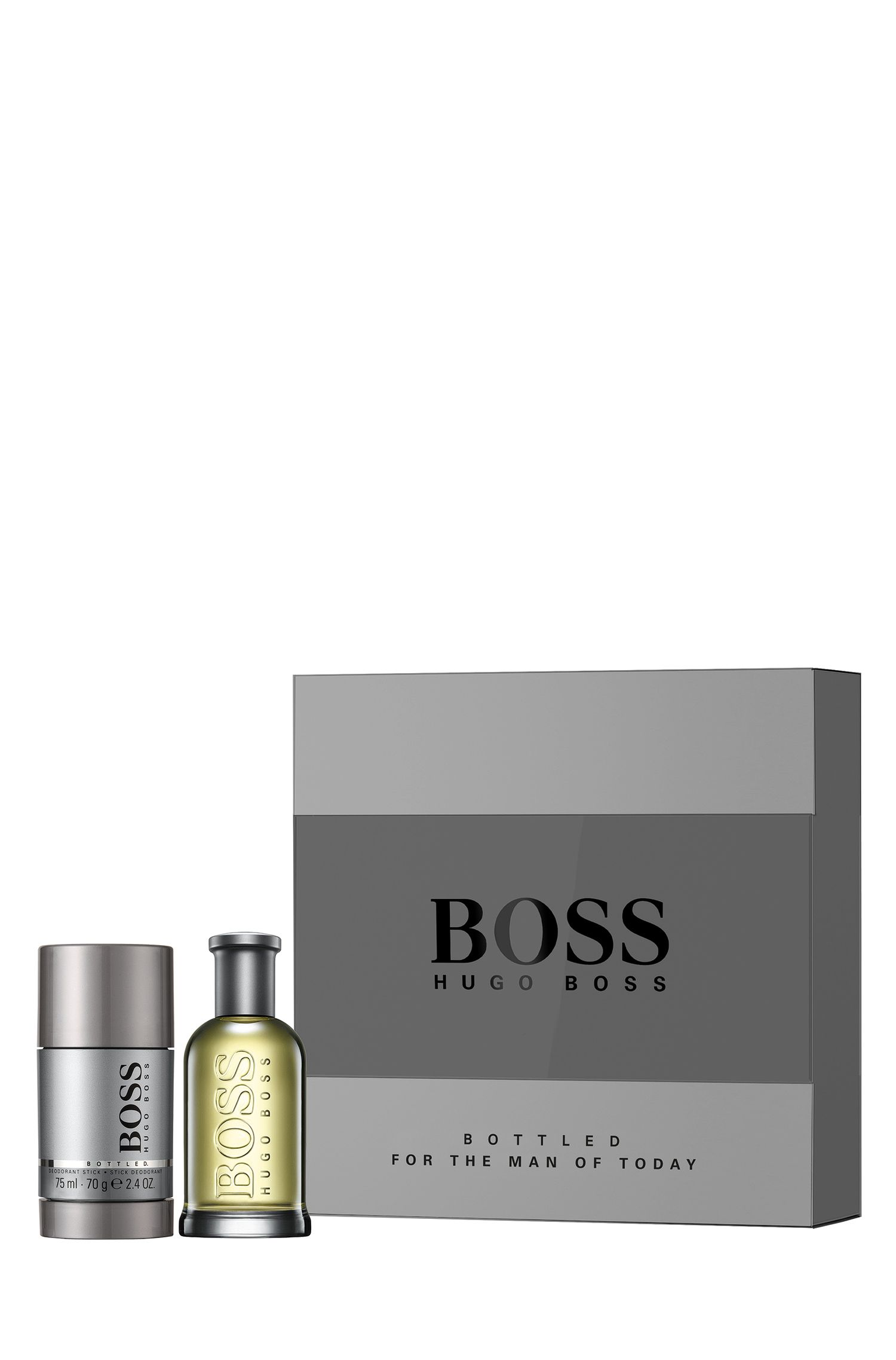 Gift set 'BOSS Bottled' with Eau de Toilette 50 ml and Deodorant Stick