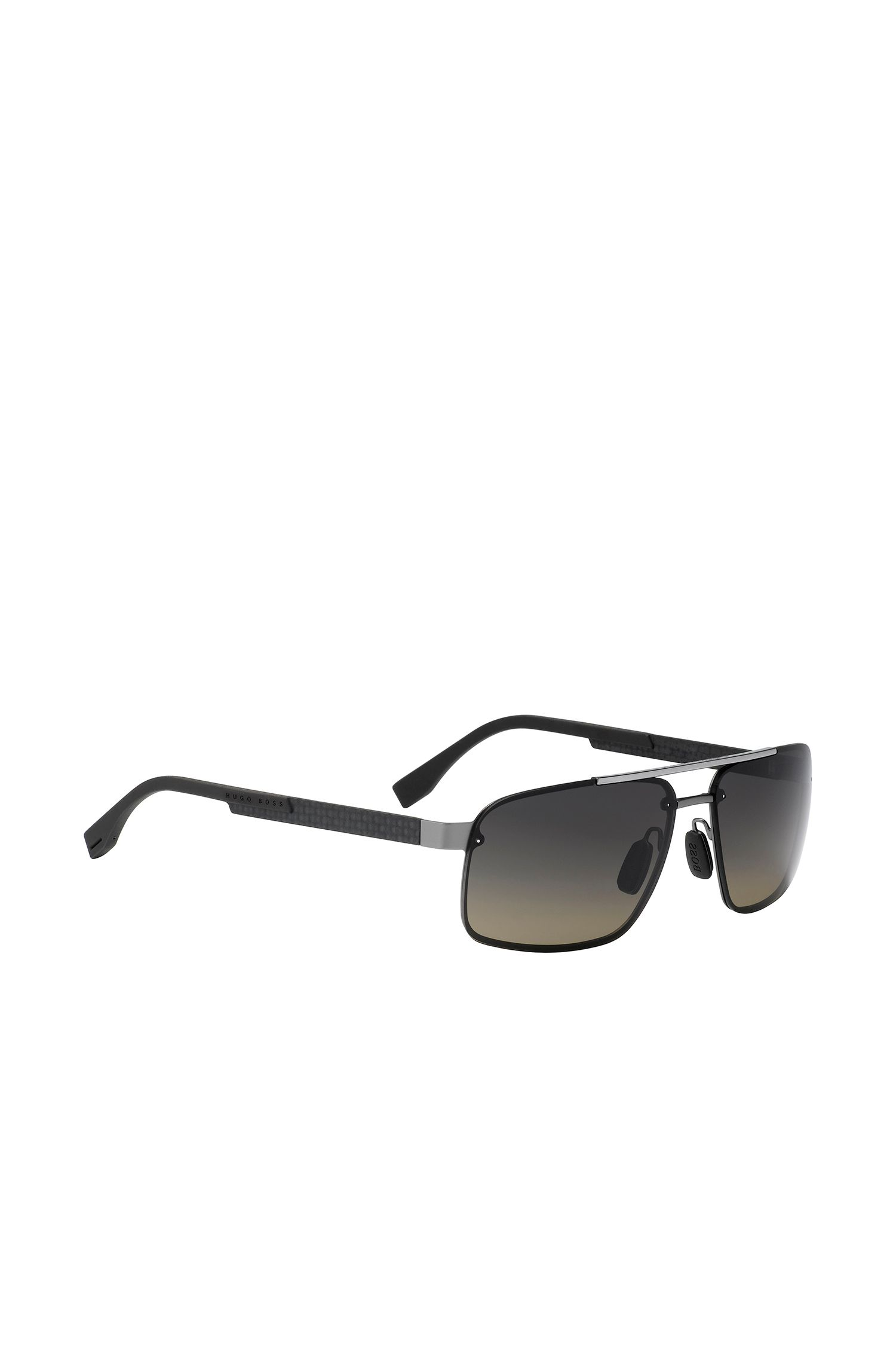 Navigator sunglasses with metal frames: 'BOSS 0773/S'