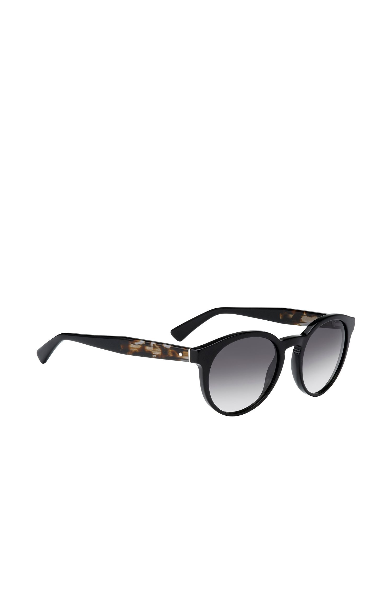 Lunettes de soleil noires de style Panto: «BOSS 0794/S»