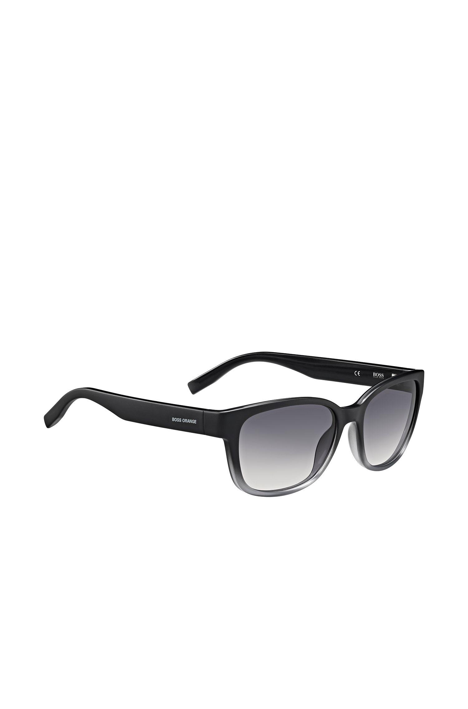 Schwarz-graue Sonnenbrille im Cat-Eye-Stil: 'BO0251/1'