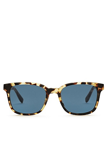 Sunglasses with patterned fully rimmed frames: 'BOSS 0802', Assorted-Pre-Pack