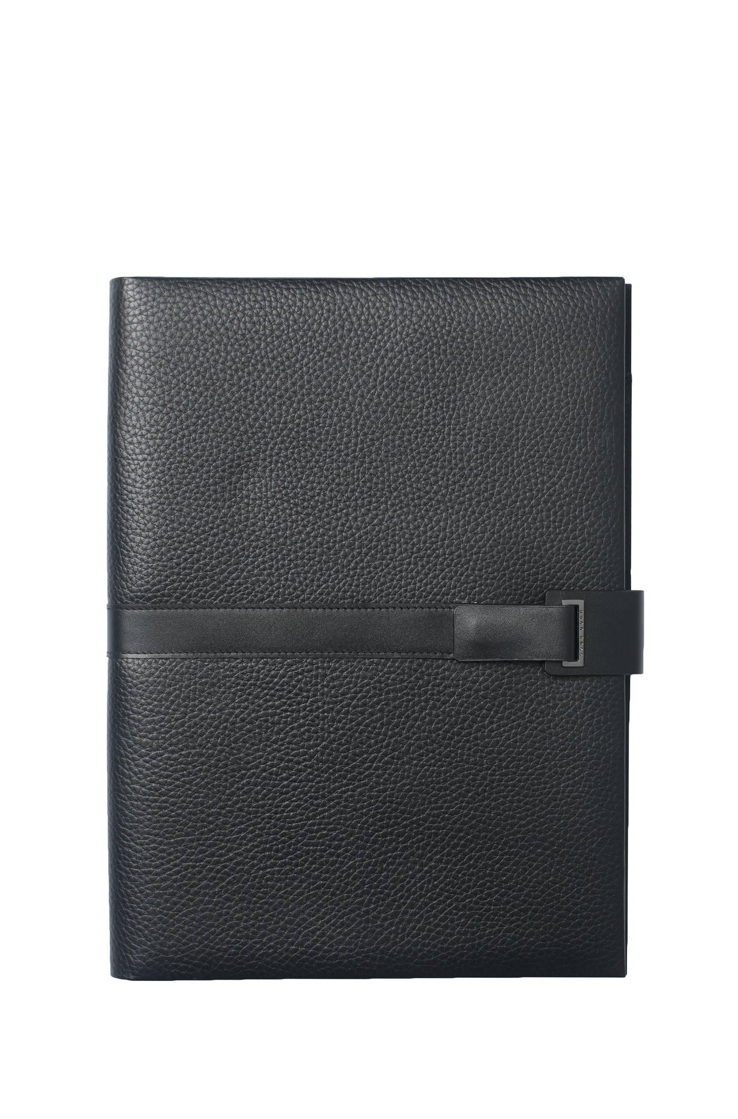 DIN A4 leather folder `Pure`