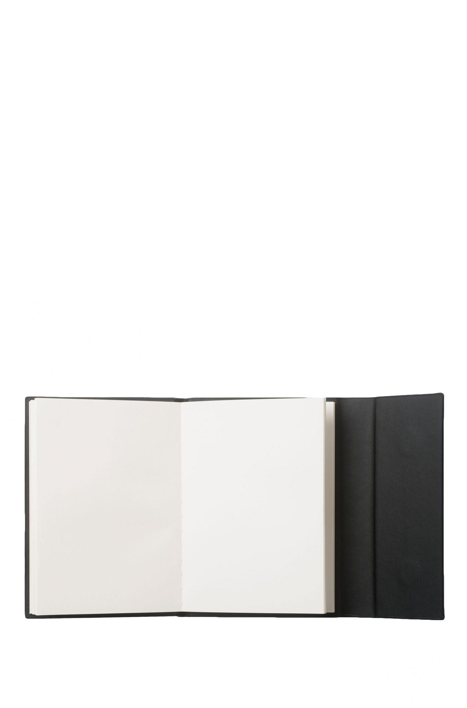 Carnet avec pochette pour les notes volantes, formatA6: «Verse»