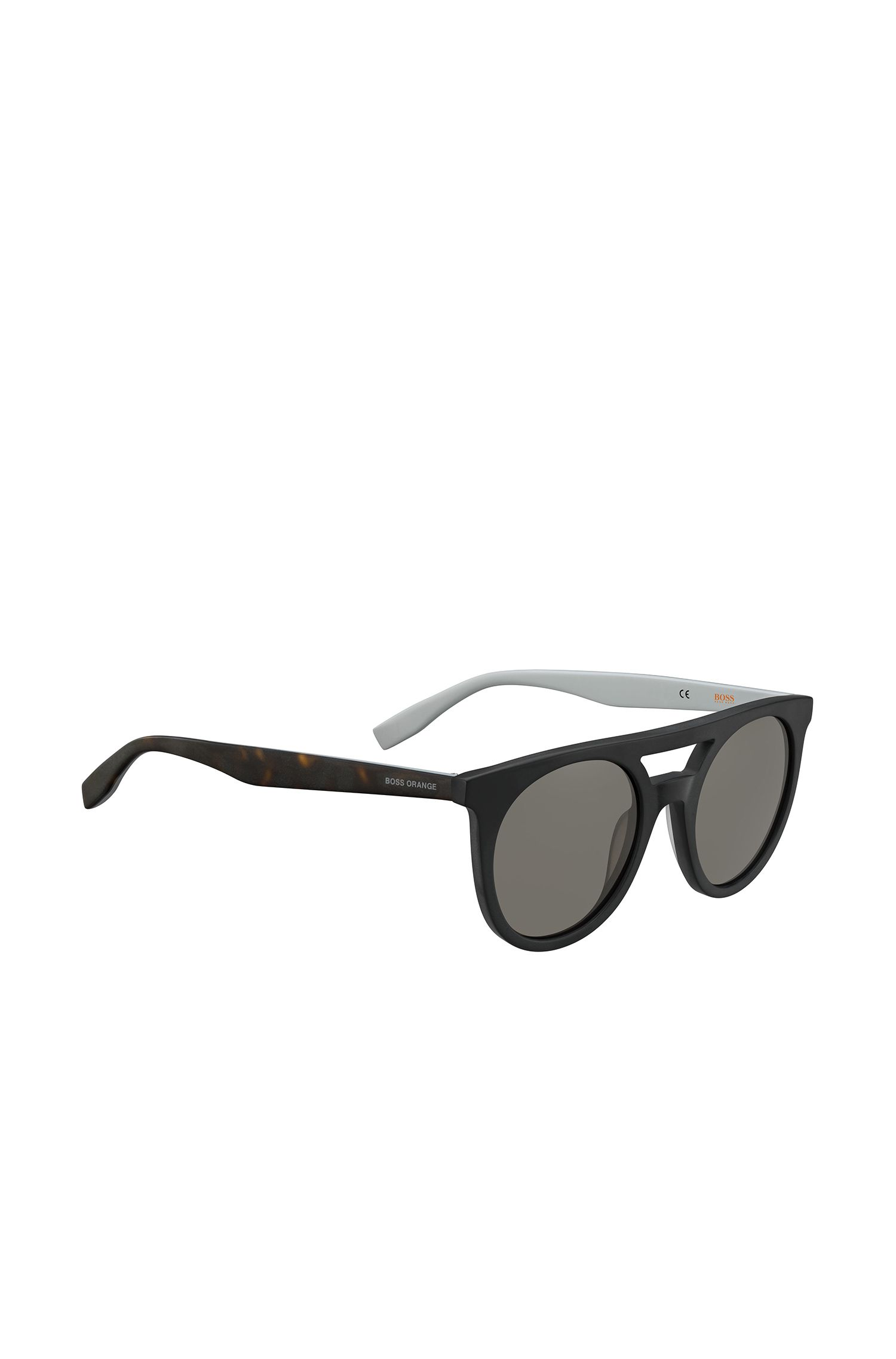 Unisex sunglasses with patterned temples: 'BO 0266/S'