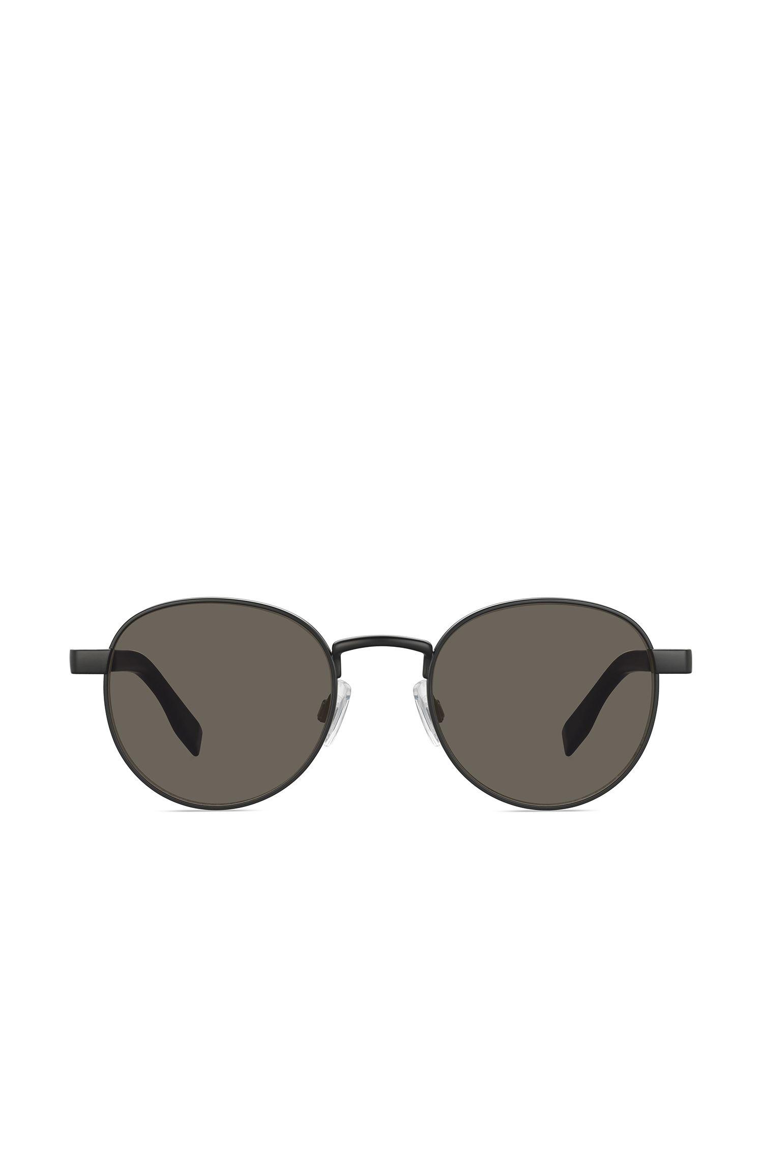 Sonnenbrille mit Metallfassung und gemusterten Bügeln: 'BO 0269/S'