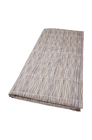 Bettdeckenbezug ´BLUESONG`aus Baumwollsatin, Hellbraun