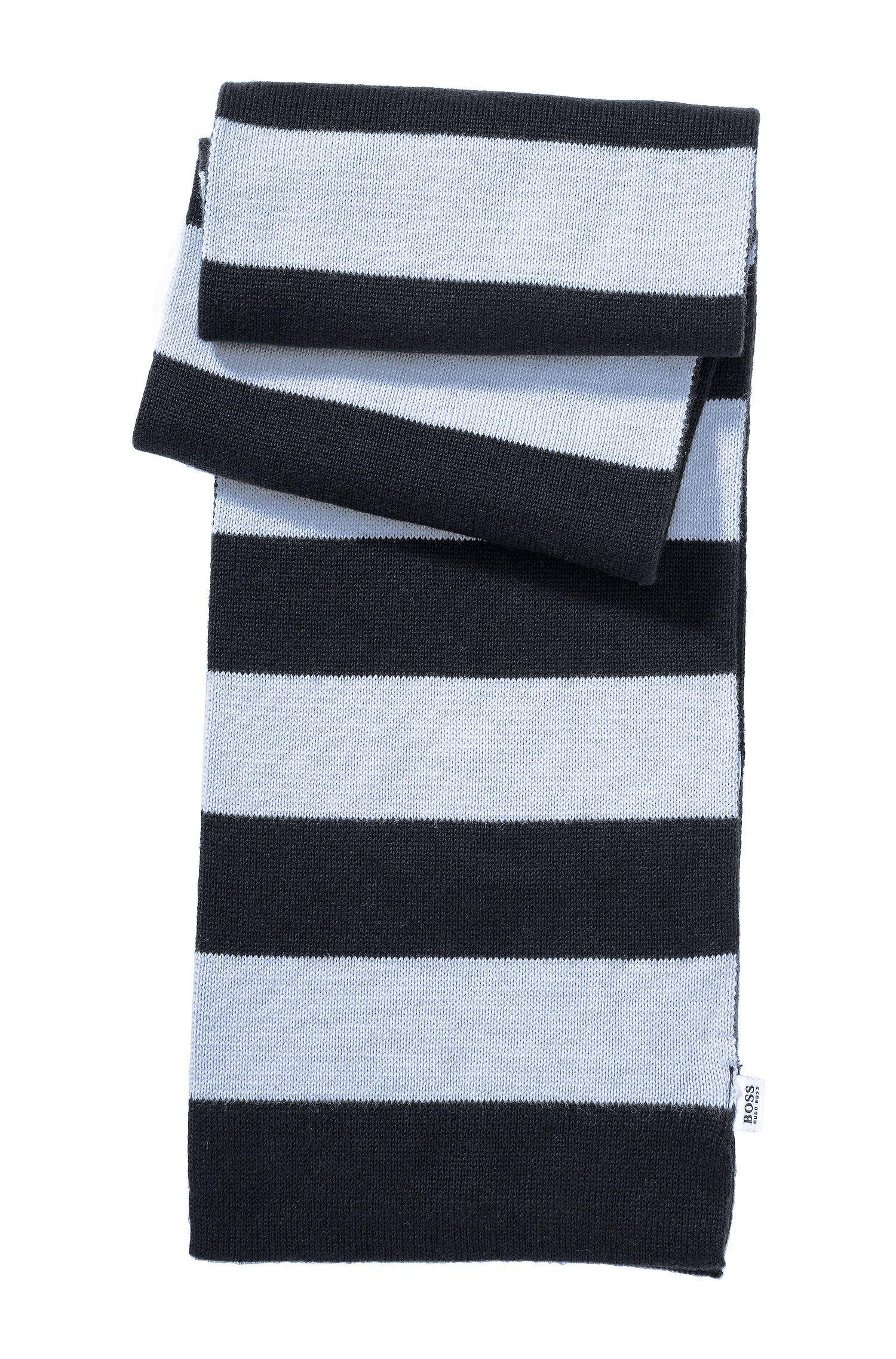 Écharpe en maille pour enfant «J01053» en coton