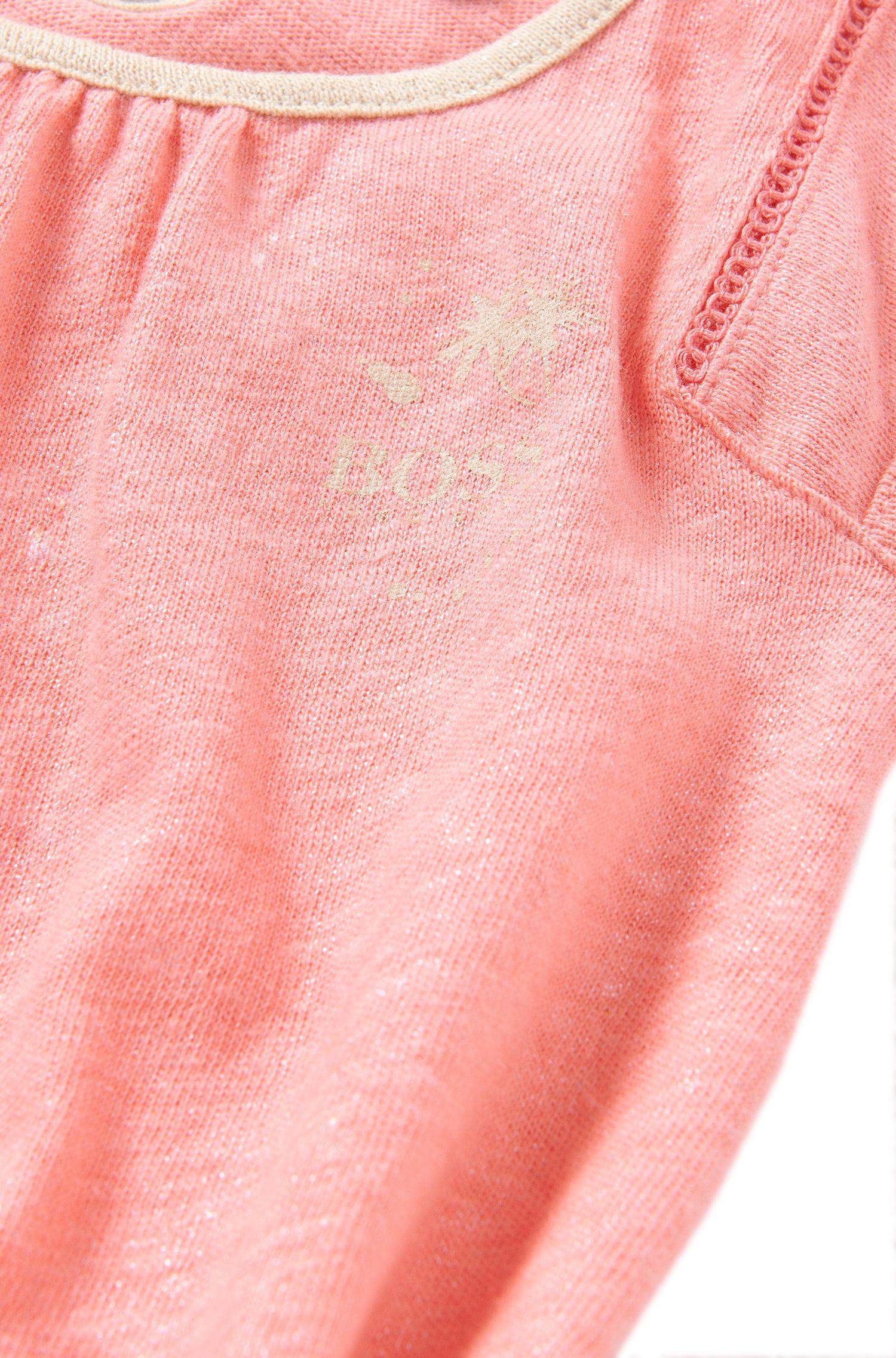 Baby-Kleid aus Baumwolle und Leinen: 'J02021'