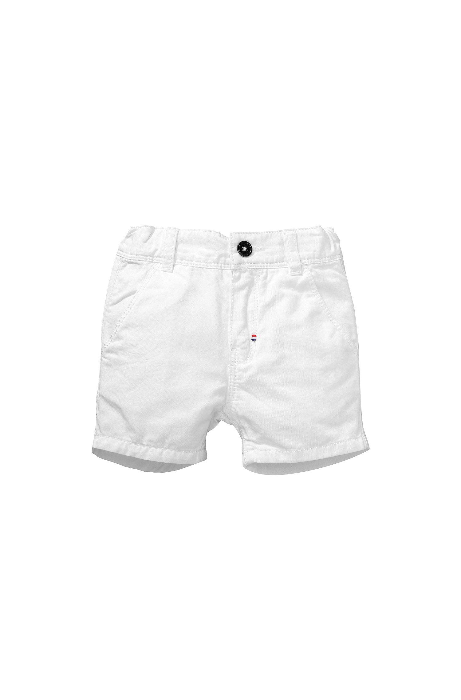 Kids-Shorts ´J04183` aus Baumwoll-Mix mit Leinen