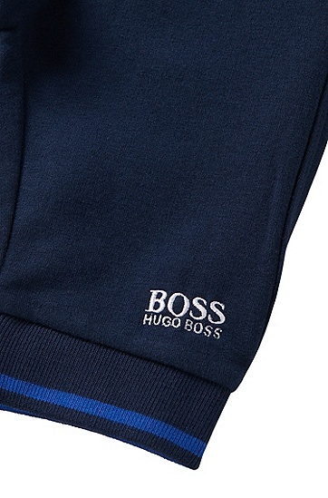 Hose aus Baumwoll-Mix: 'J04205', Dunkelblau
