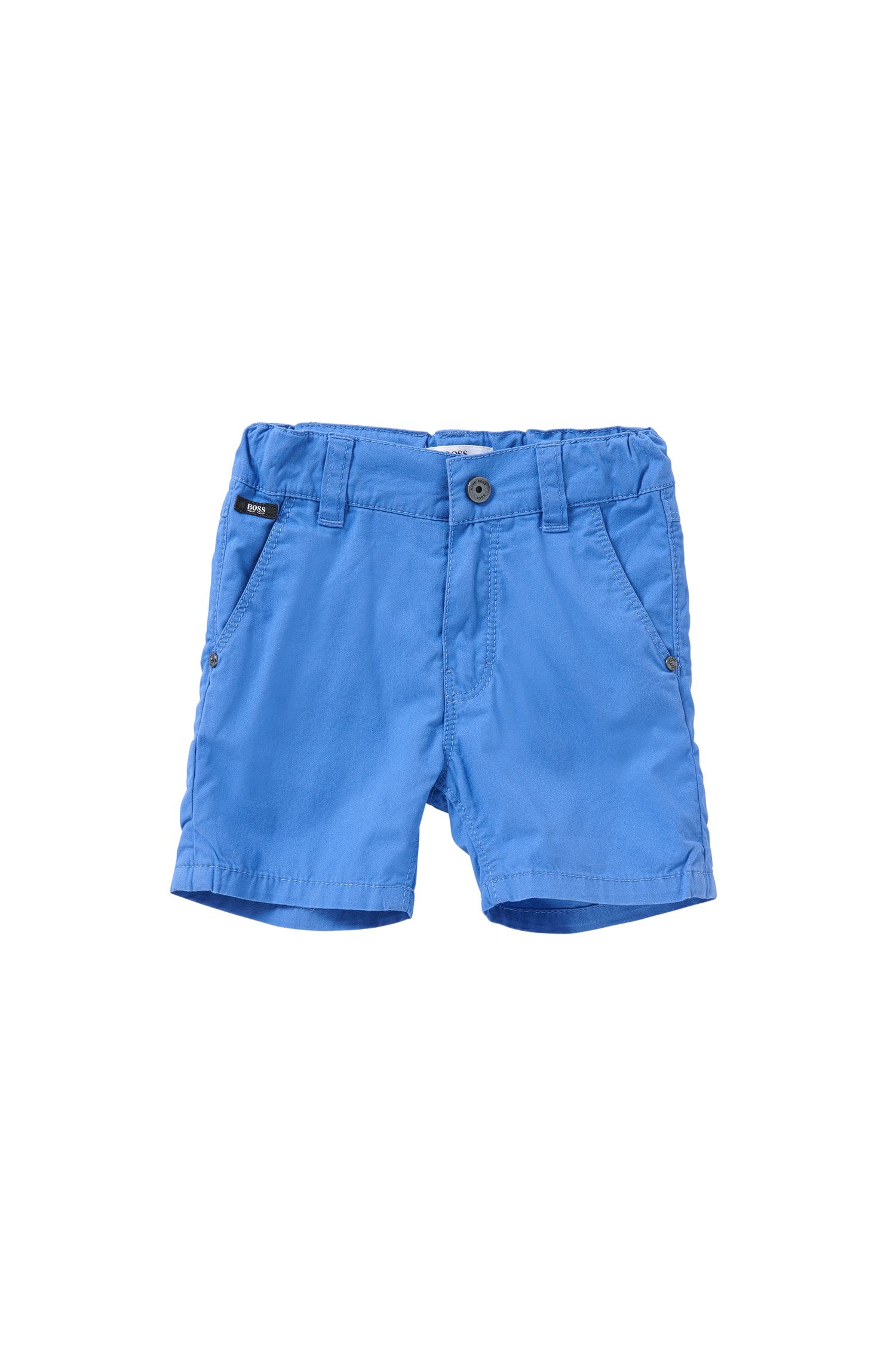 Regular-fit newborn's shorts in cotton: 'J04218'