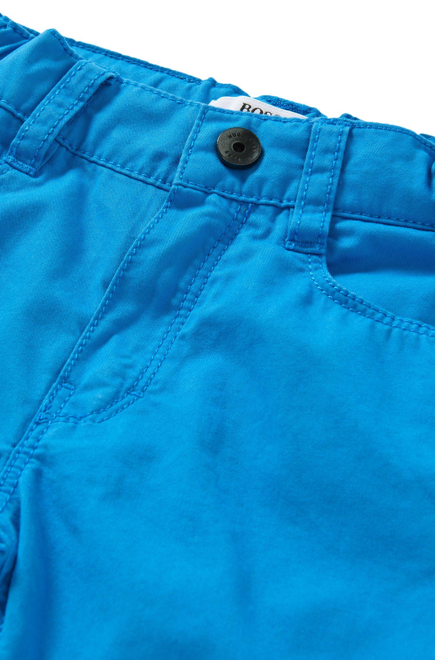 Pantalon Regular Fit pour bébé en coton, de style cinq poches: «J04225»
