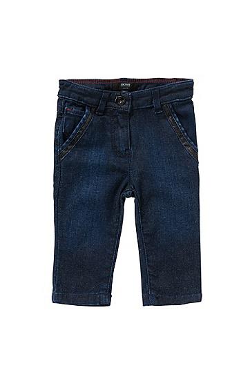 Slim-Fit Baby-Jeans aus Baumwoll-Mix: 'J04234', Gemustert