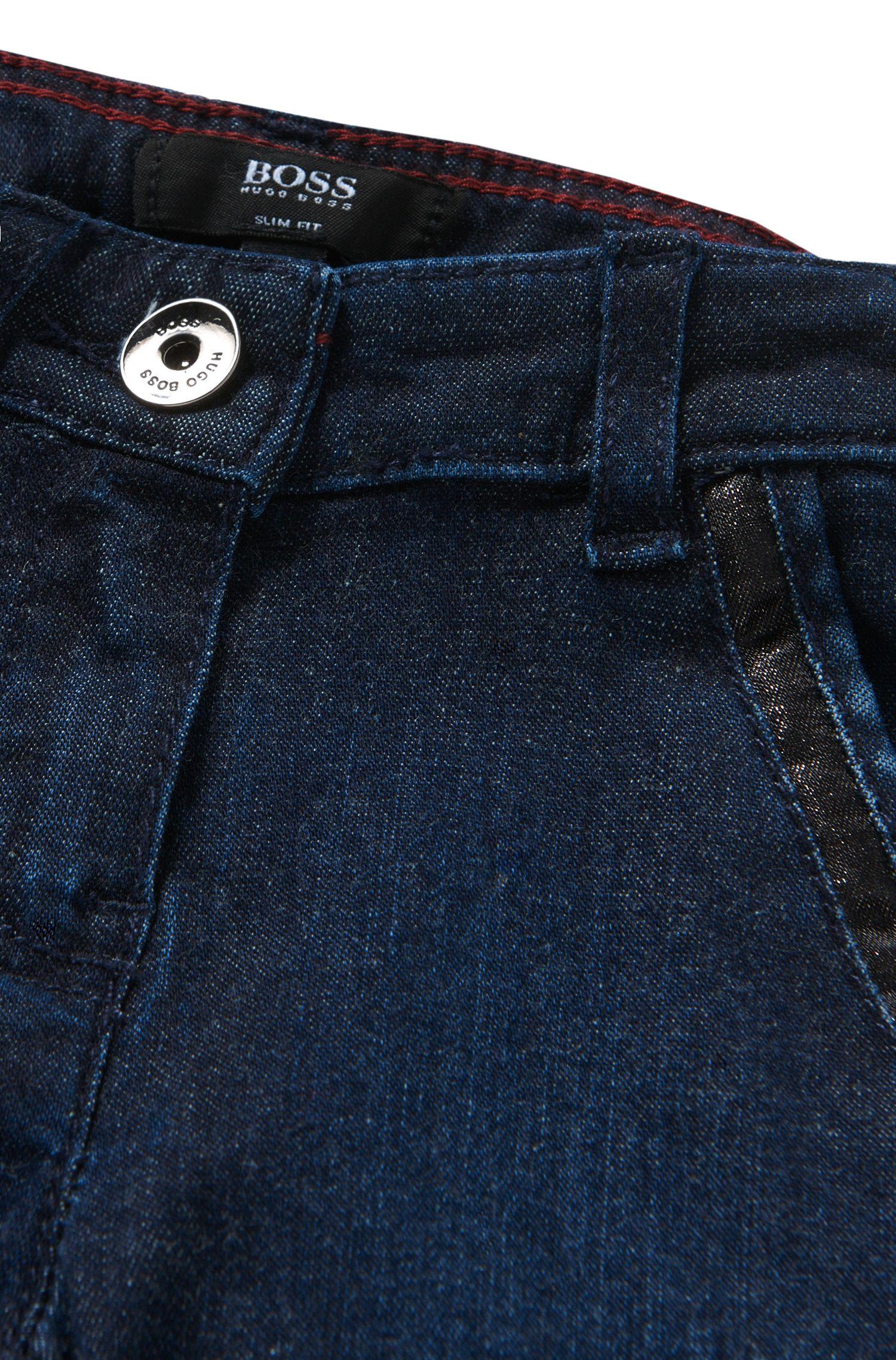 Jeans pour bébé Slim Fit en coton mélangé: «J04234»