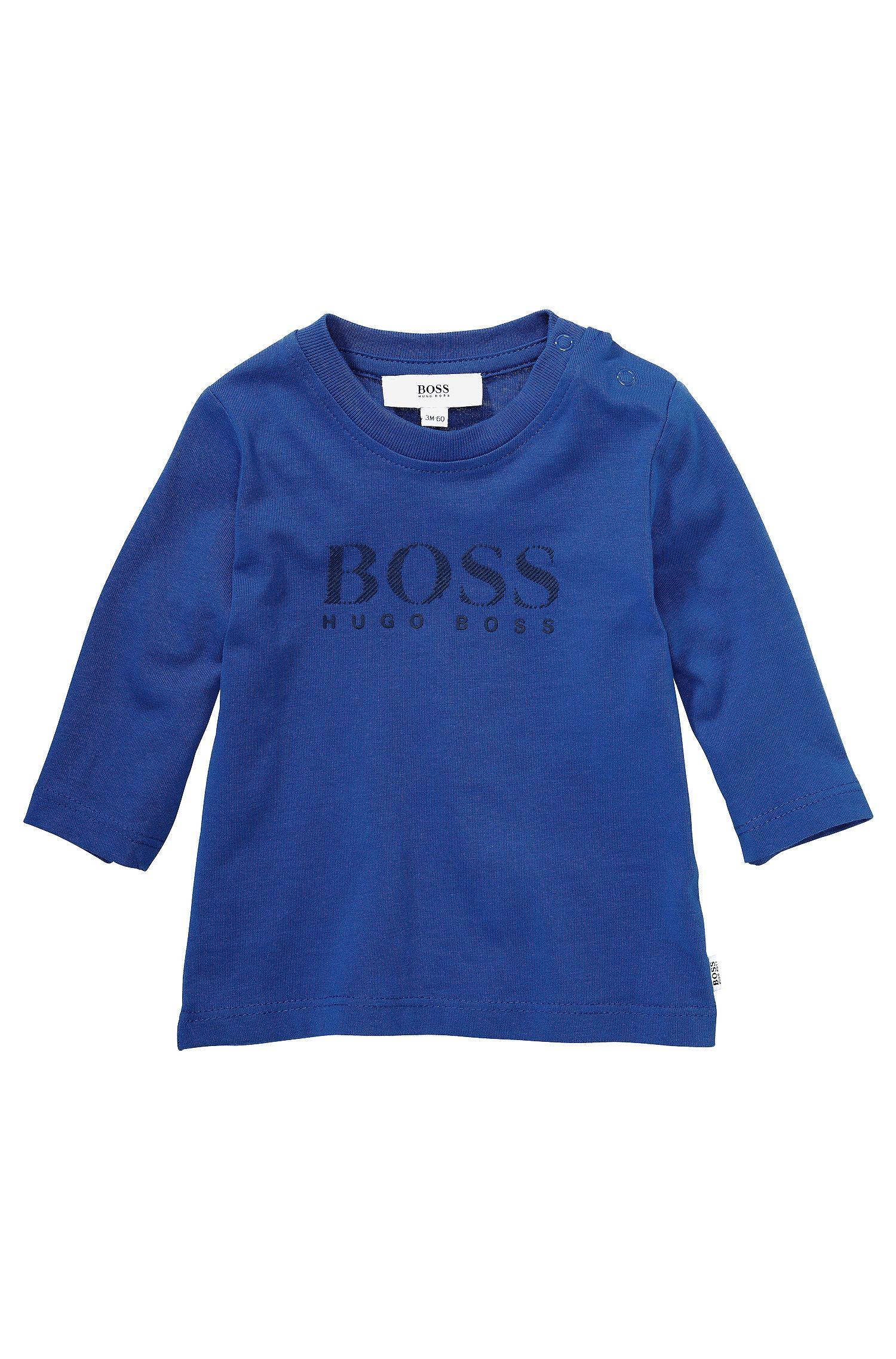 T-shirt à manches longues pour enfant «J05313» en coton