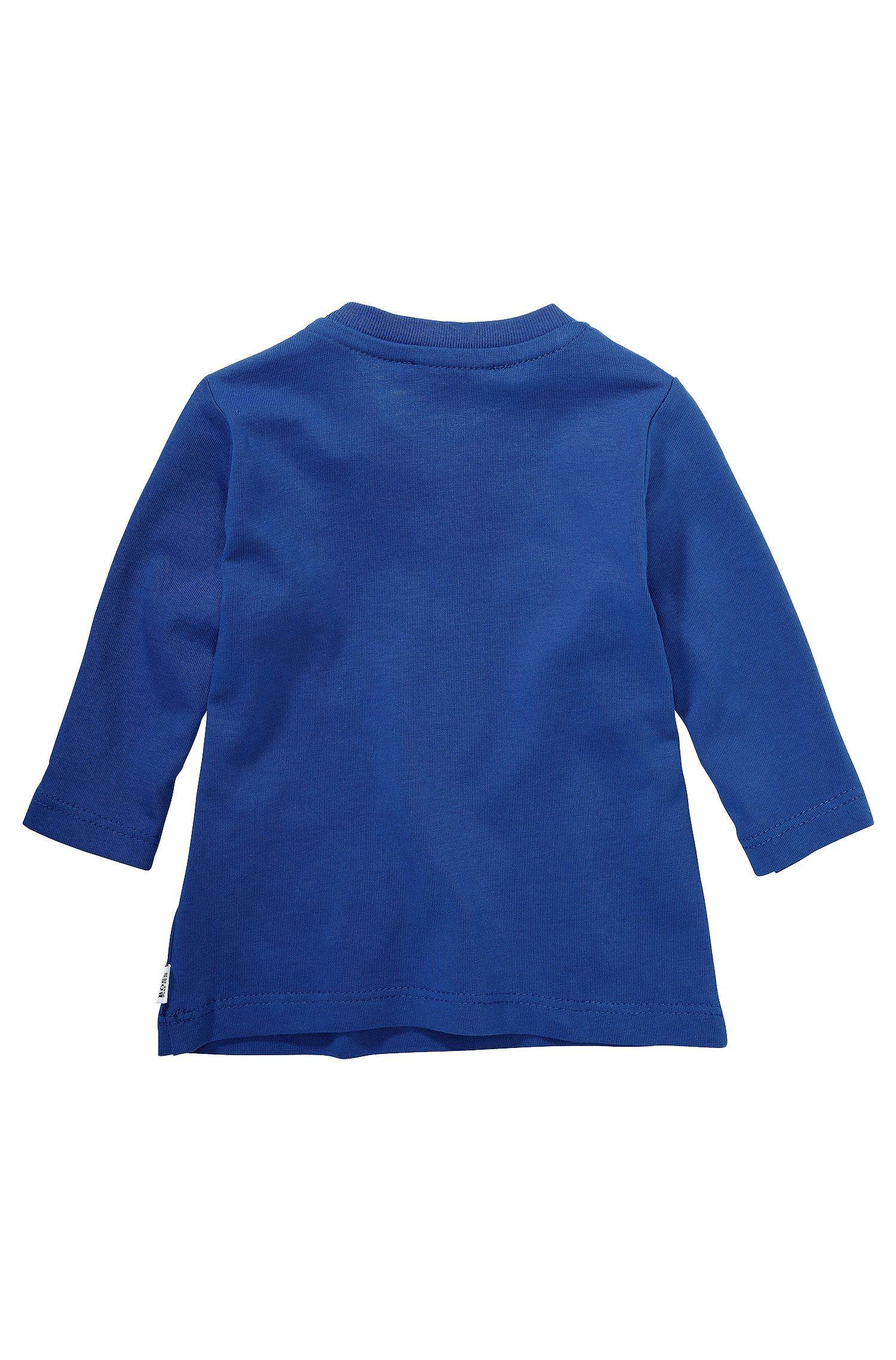 Kindershirt met lange mouwen 'J05313' van katoen