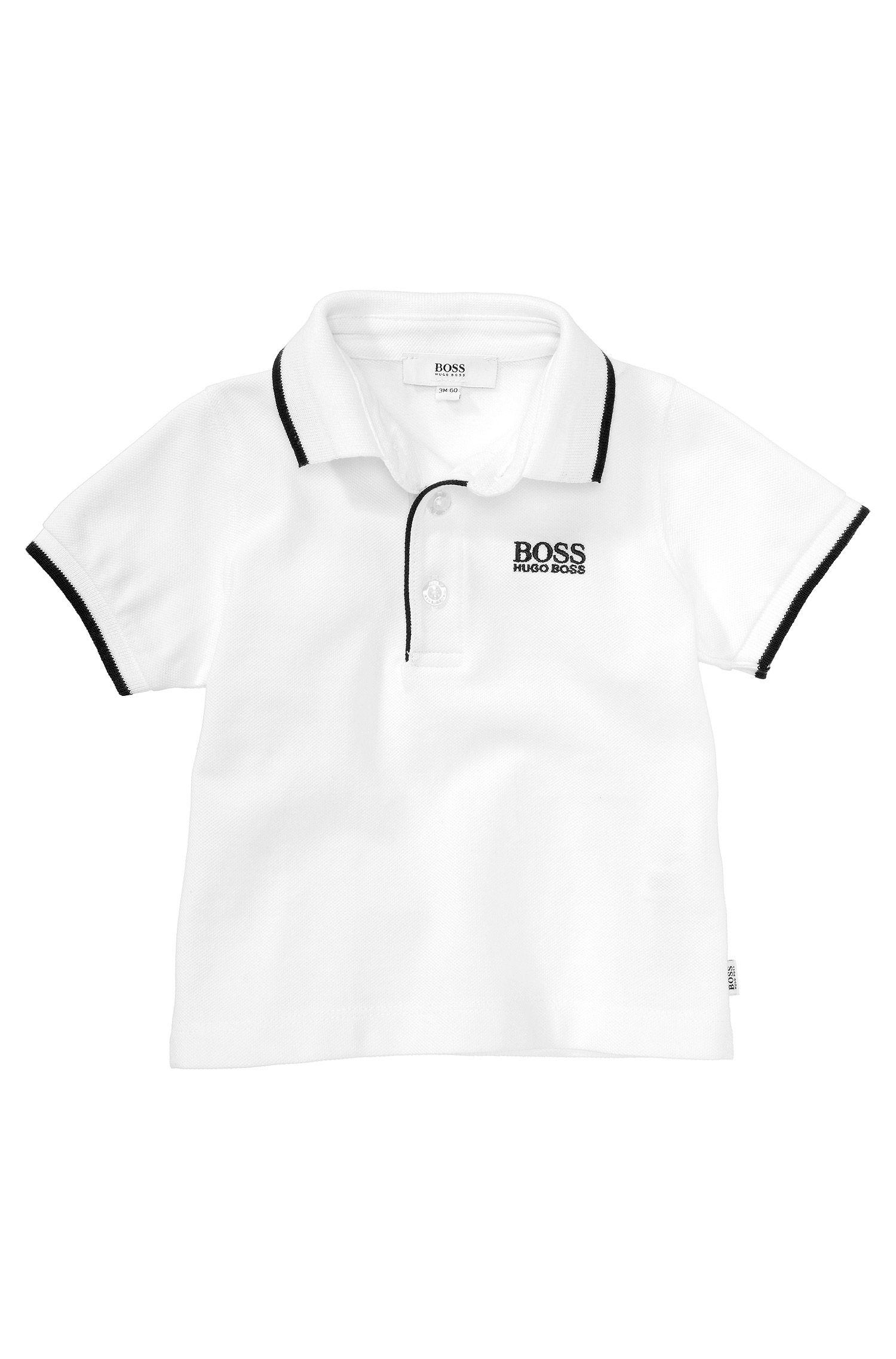 Polo pour enfant «J05316» en maille piquée
