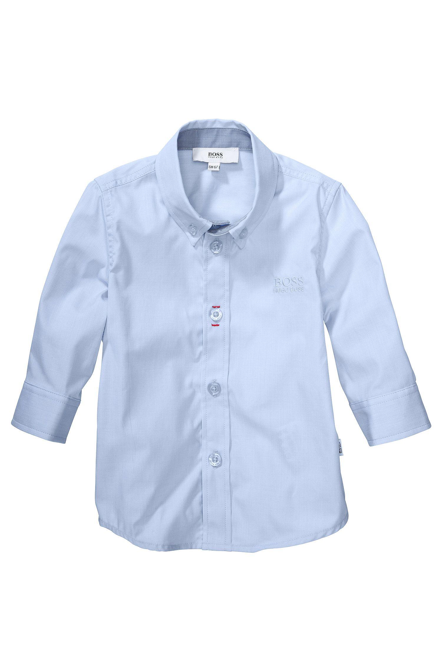 Chemise pour enfant «J05318» en coton