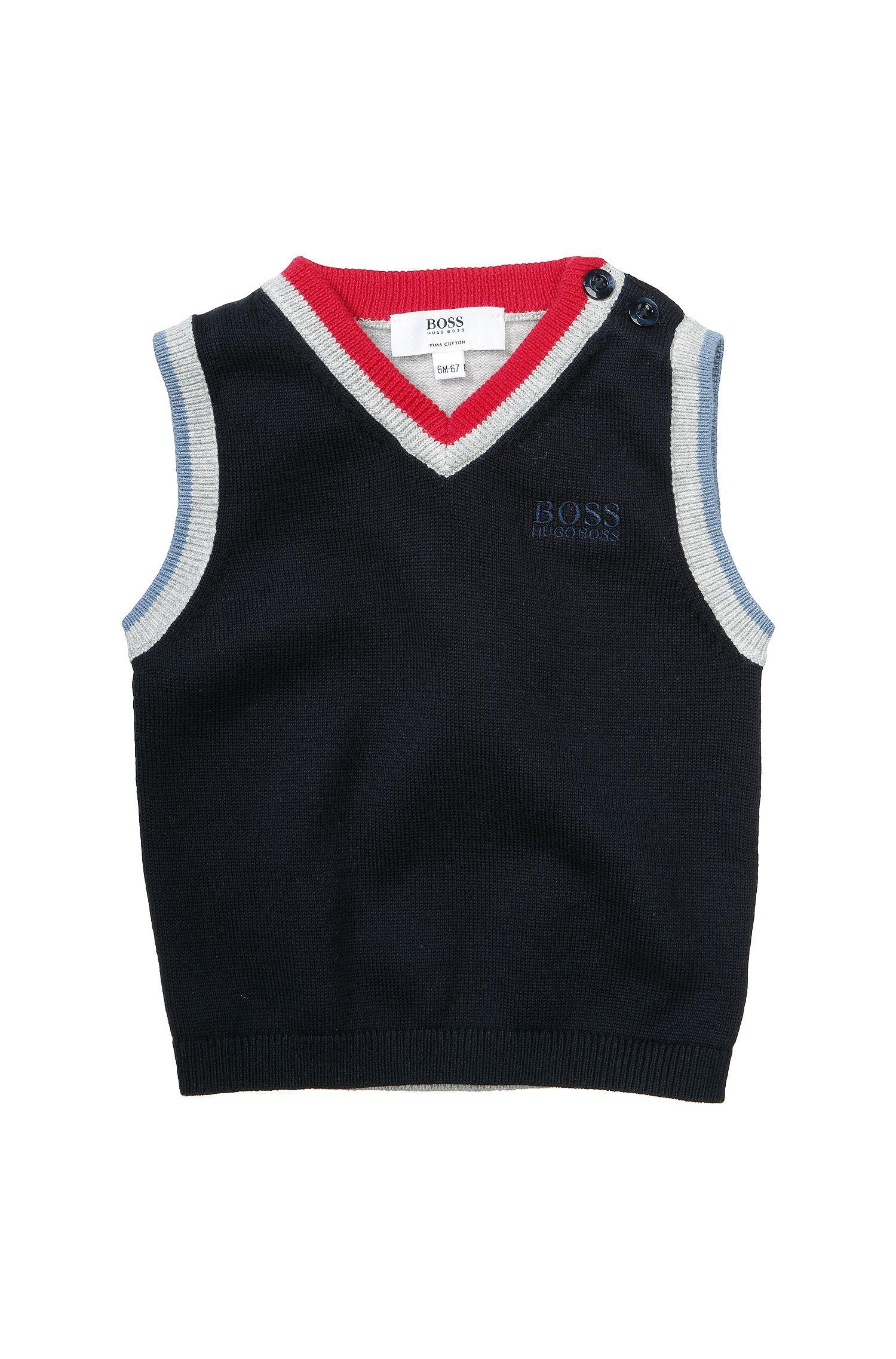 Débardeur pour enfants «J05319» en coton