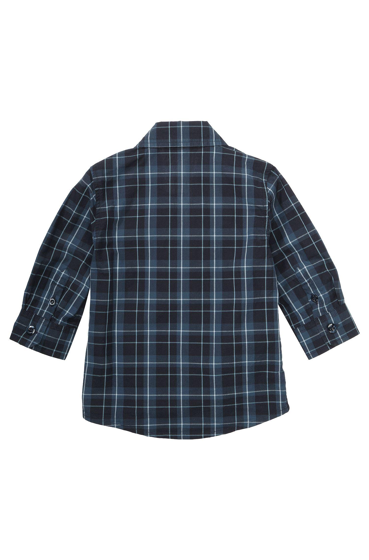 Kinderoverhemd 'J05328' van katoen