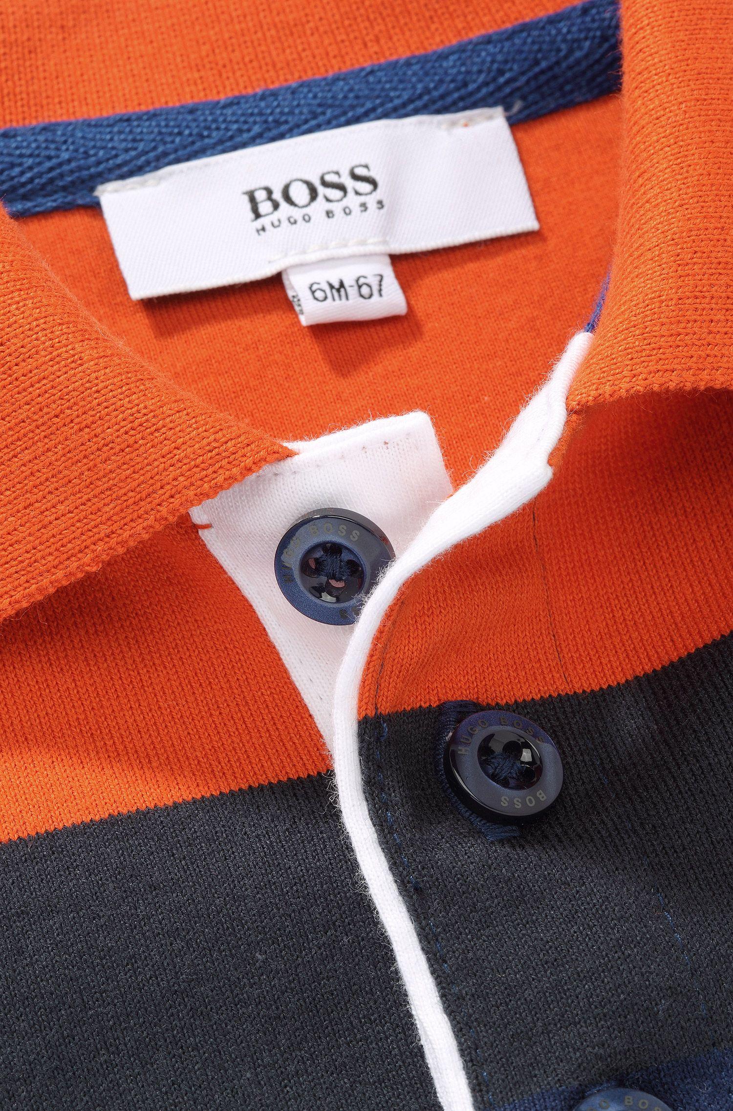 Kids-Longsleeve-Polo ´J05334` aus Baumwolle