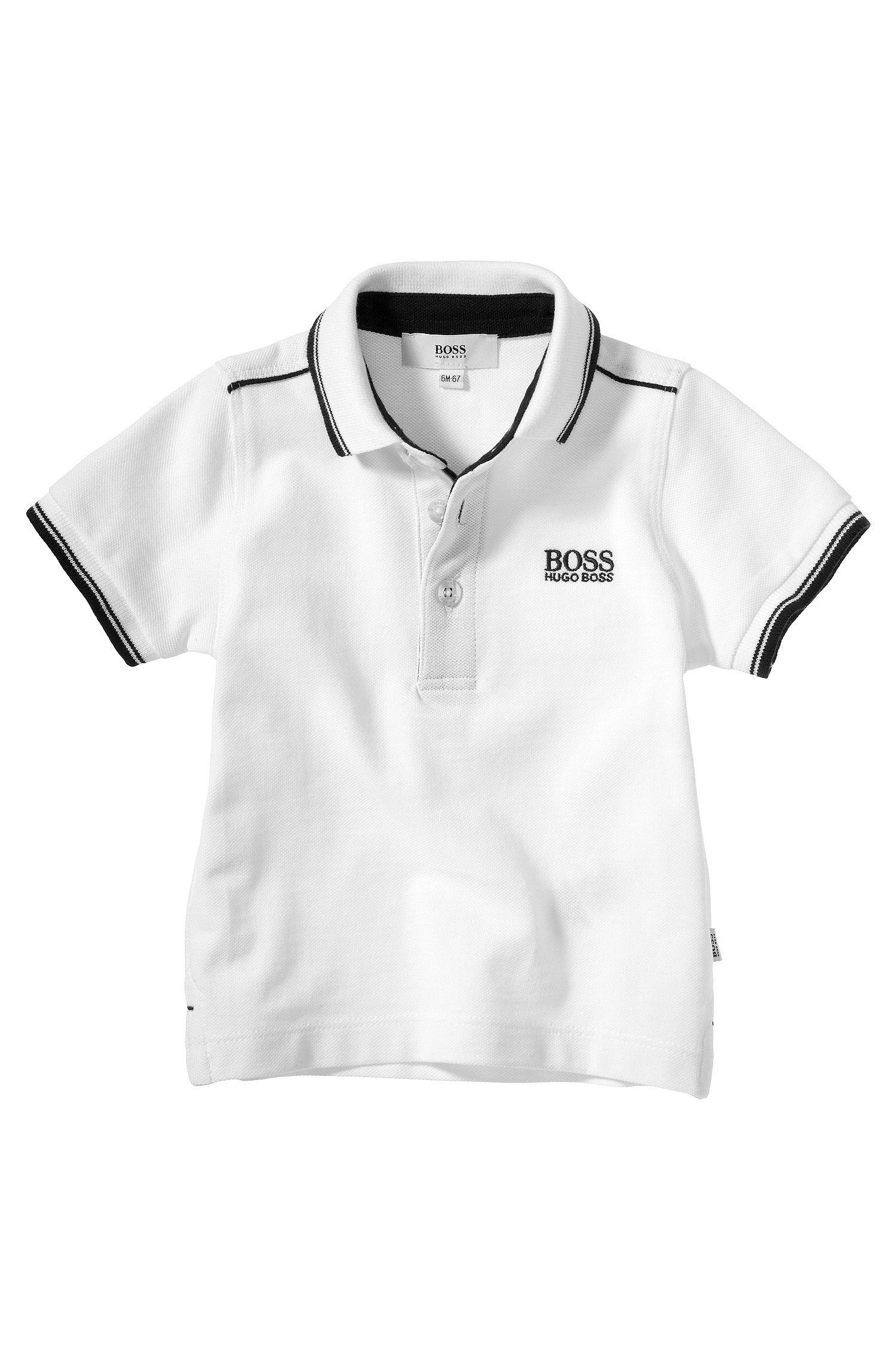 Polo pour enfant en maille piquée de coton «J05354»