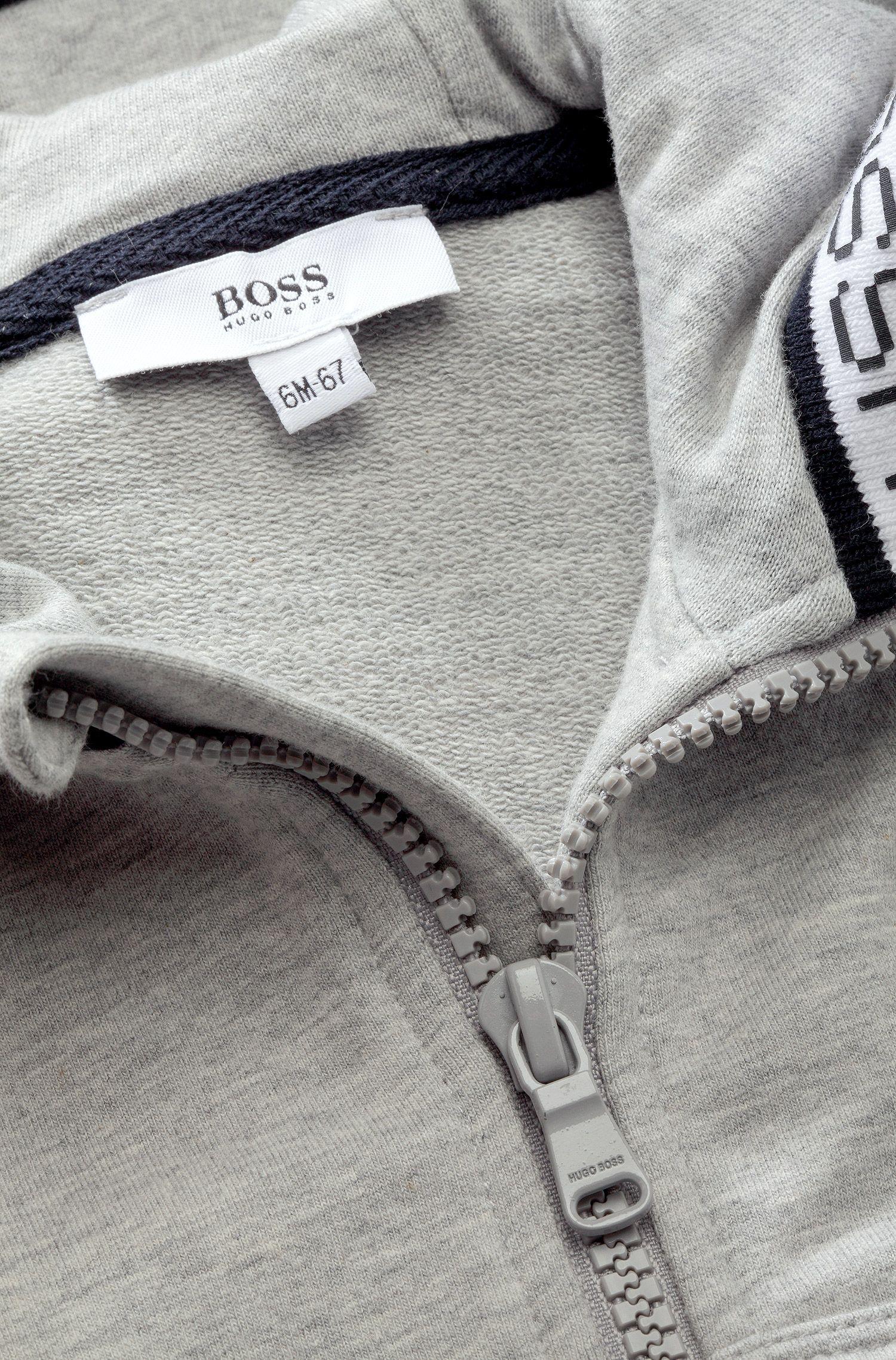 Kids-Kapuzen-Sweatshirt-Jacke ´J05358` aus Baumwoll-Mix