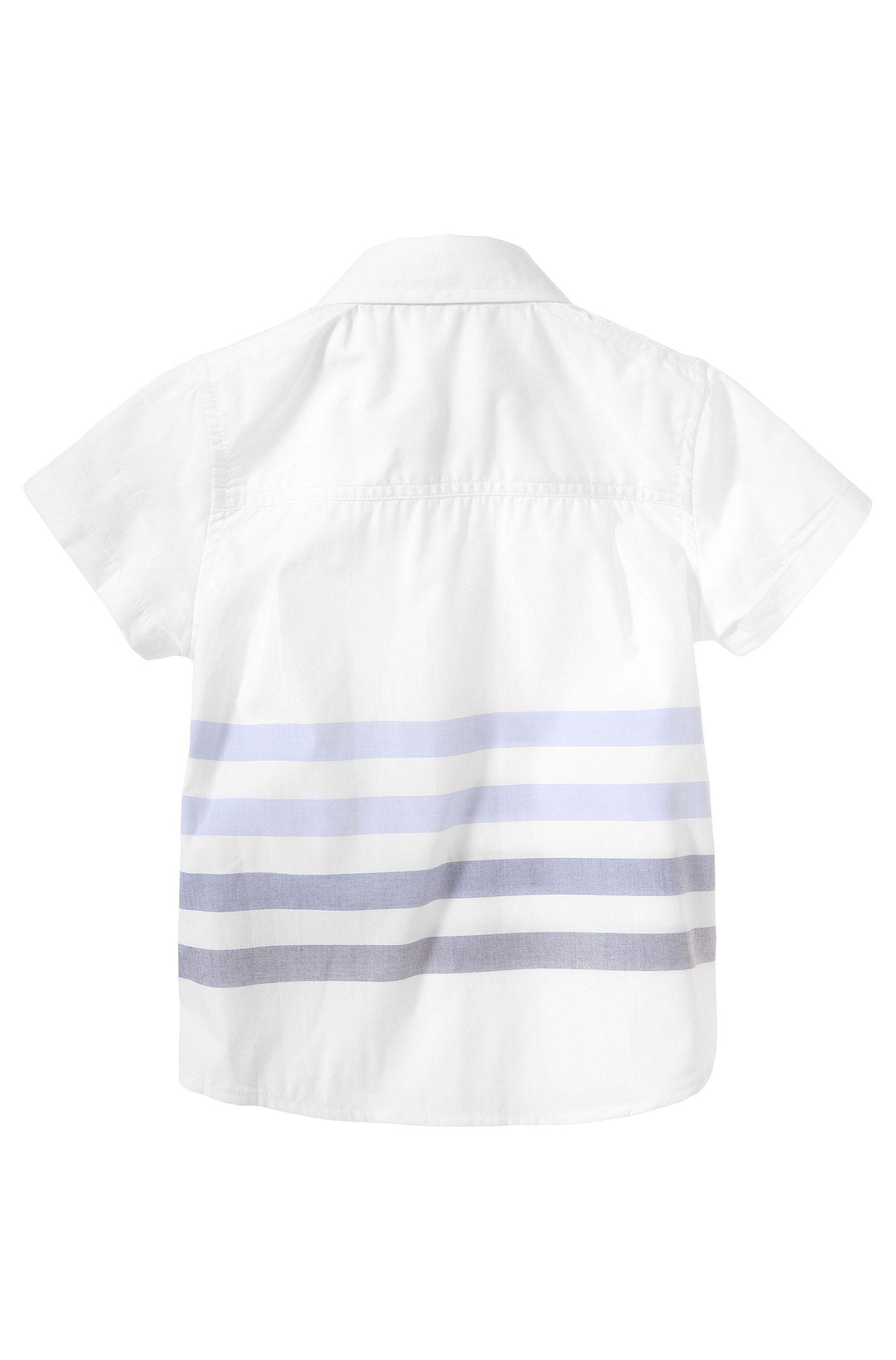 Kids-Hemd ´J05364` mit Button-down-Kragen