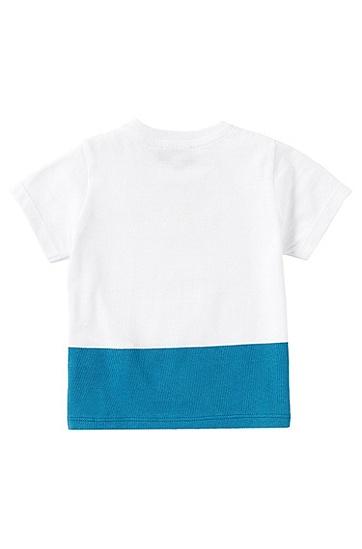 T-Shirt aus Baumwolle: 'J05368', Weiß