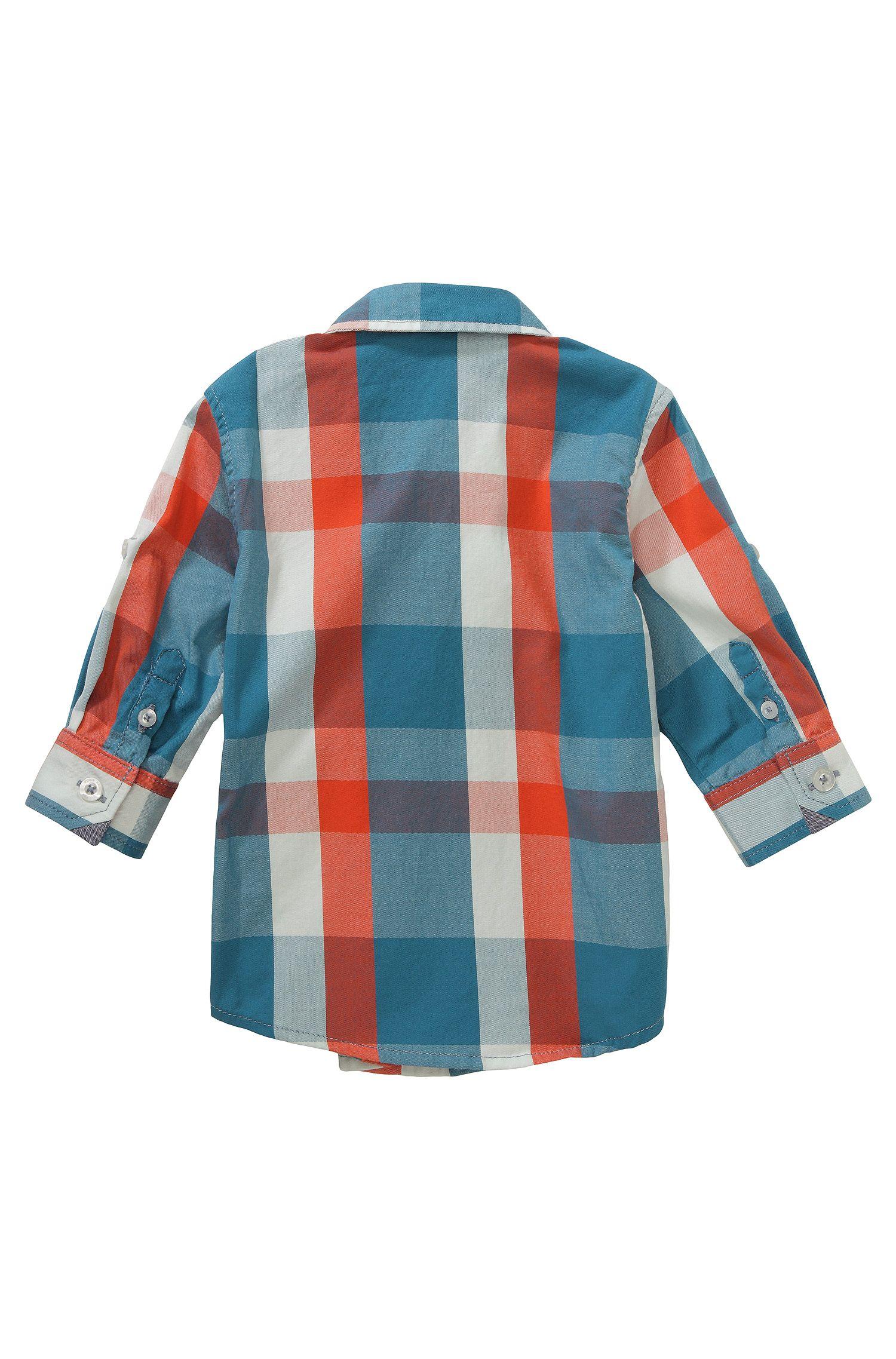 Kinderoverhemd 'J05370' van katoen