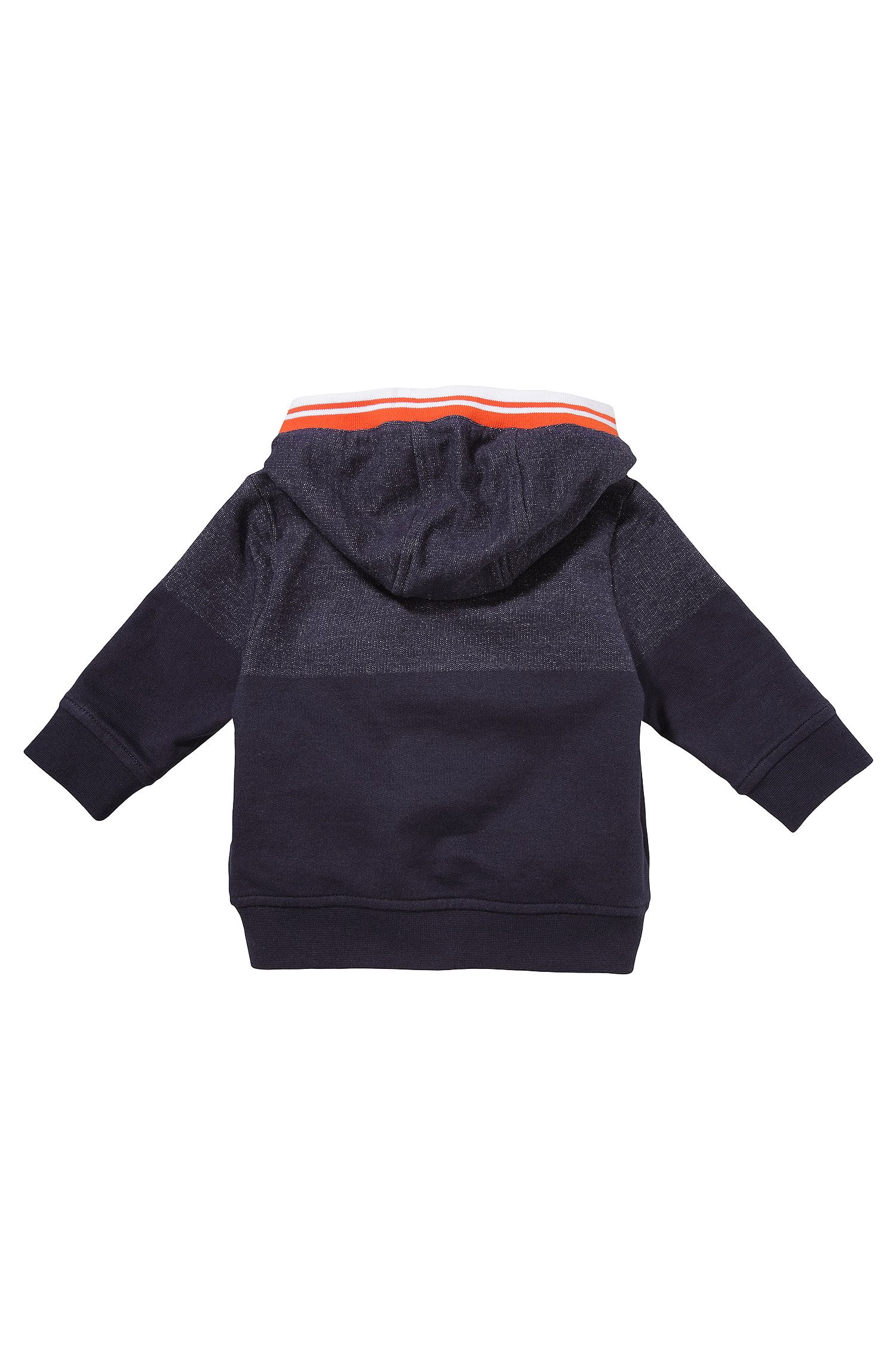 Sweatshirtjas met capuchon voor kinderen 'J05371' van katoen