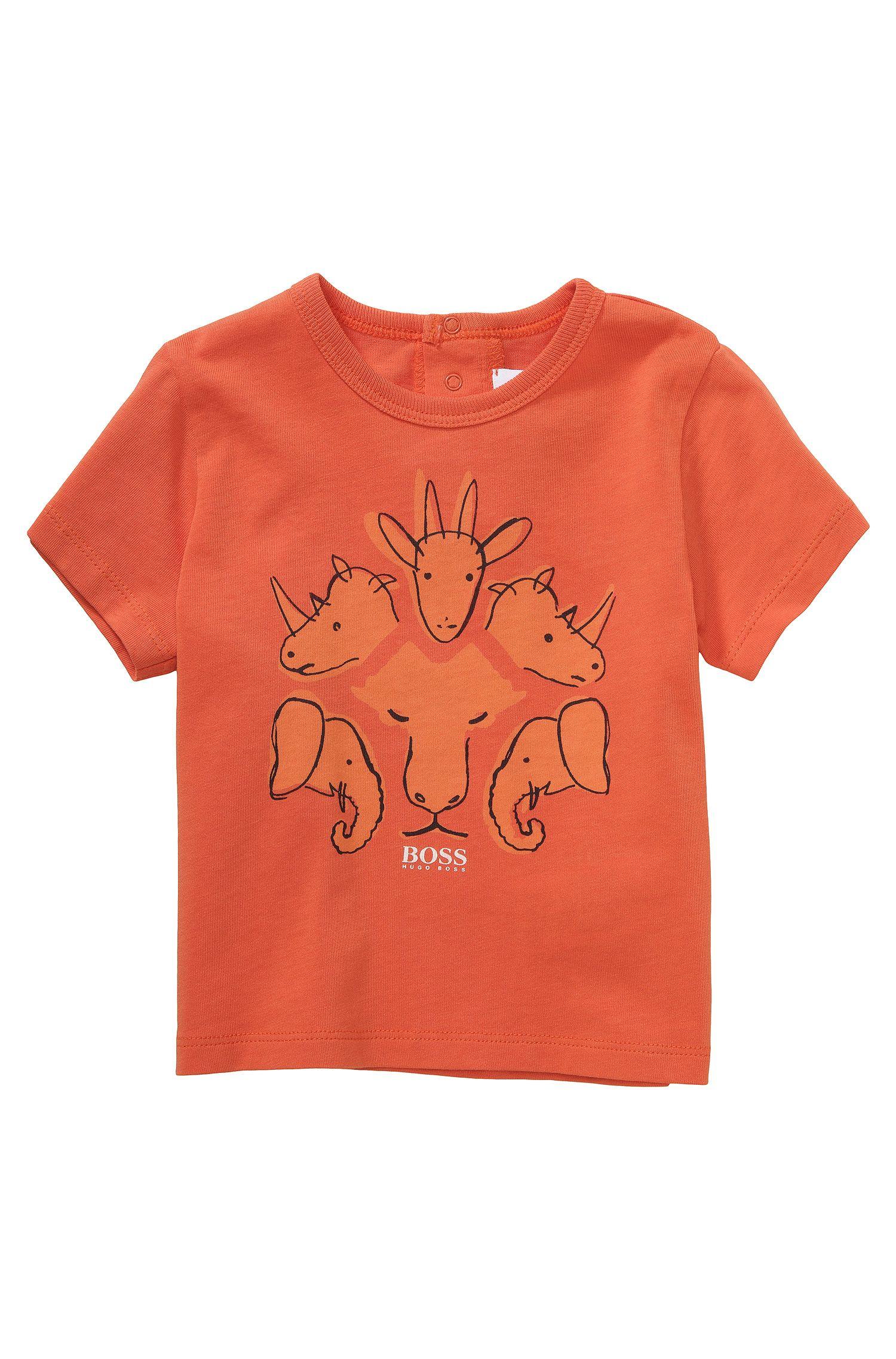 Kinder-T-shirt 'J05379' van katoen