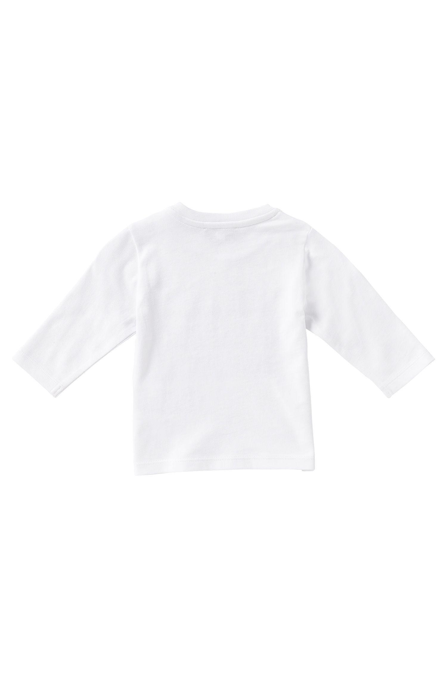 T-shirt manches longues pour enfant en coton: «J05393»