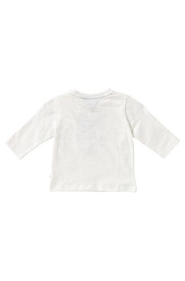 Kids-Longsleeve aus Baumwolle: 'J05395', Natur