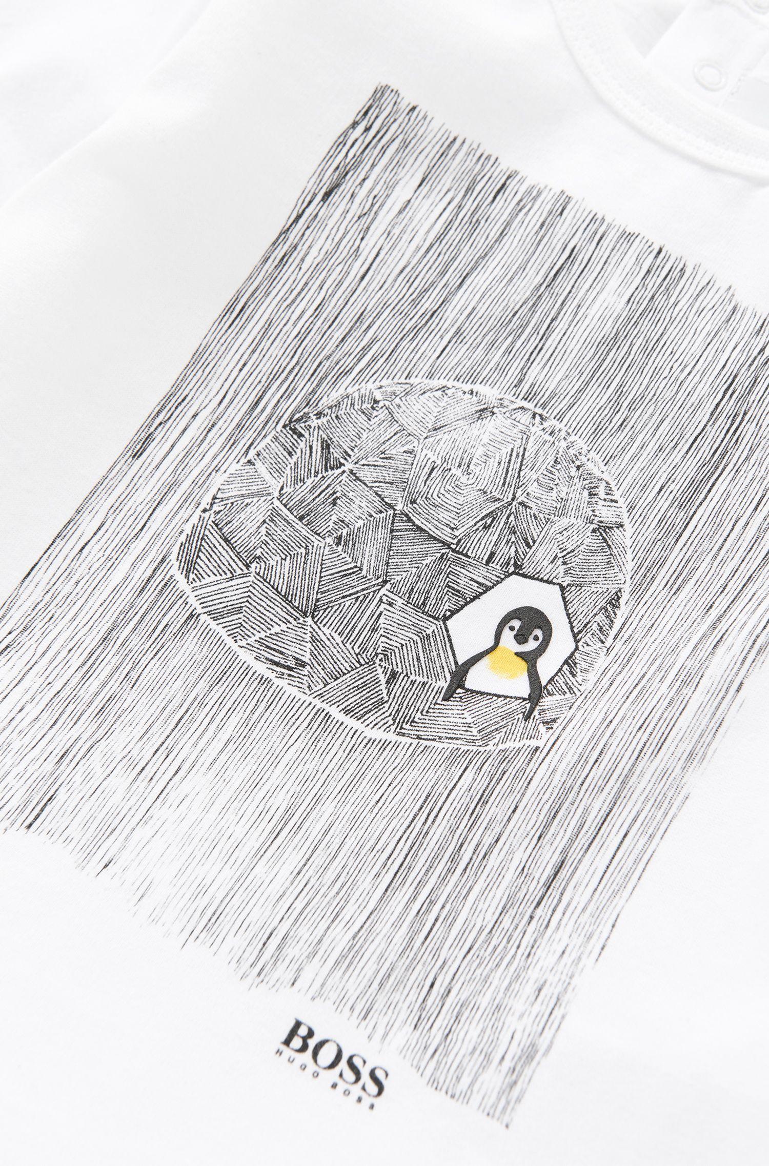 Bedrucktes Longsleeve aus Baumwolle: 'J05396'