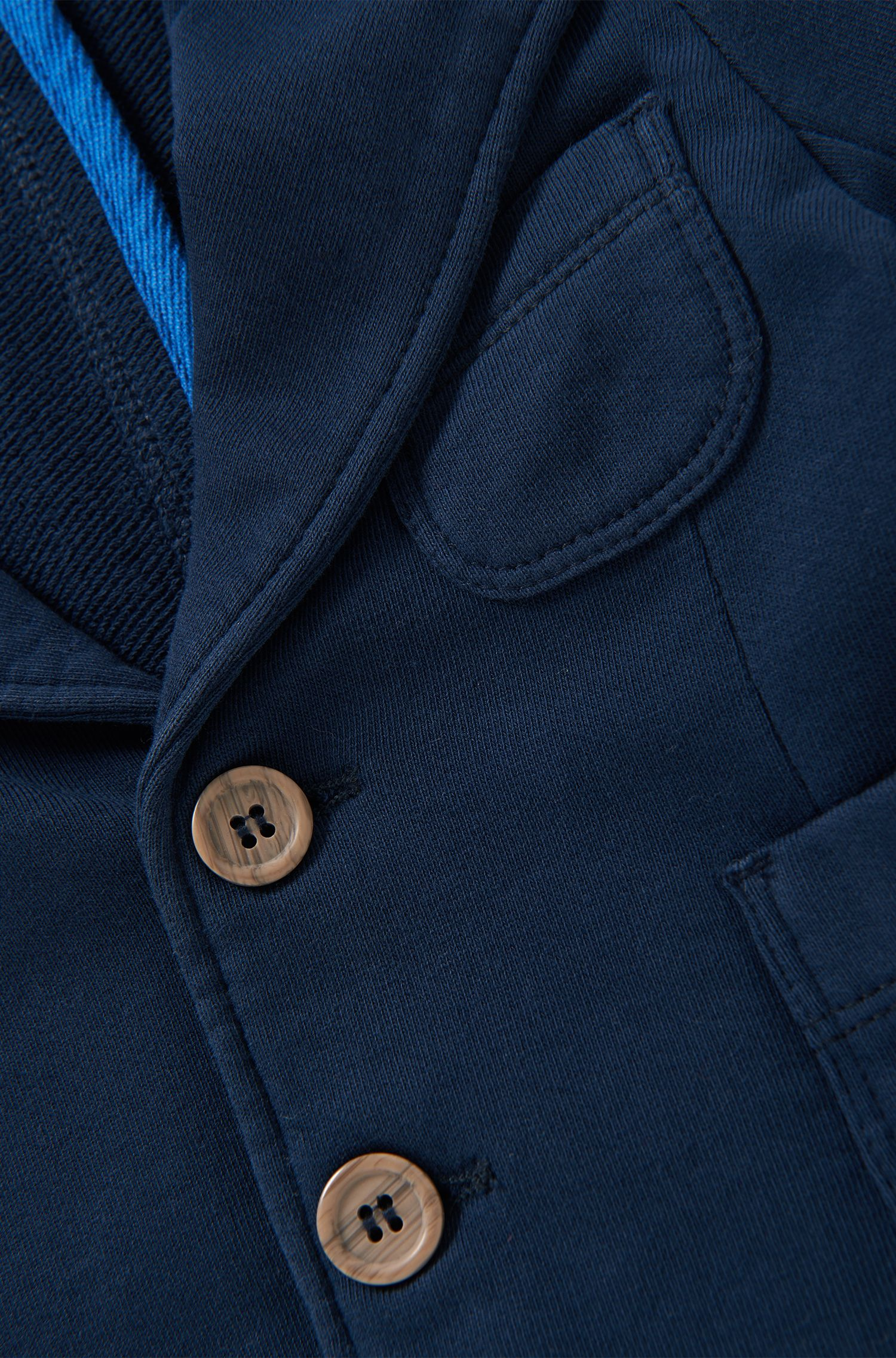 Sweat-Sakko aus Baumwolle: 'J05411'
