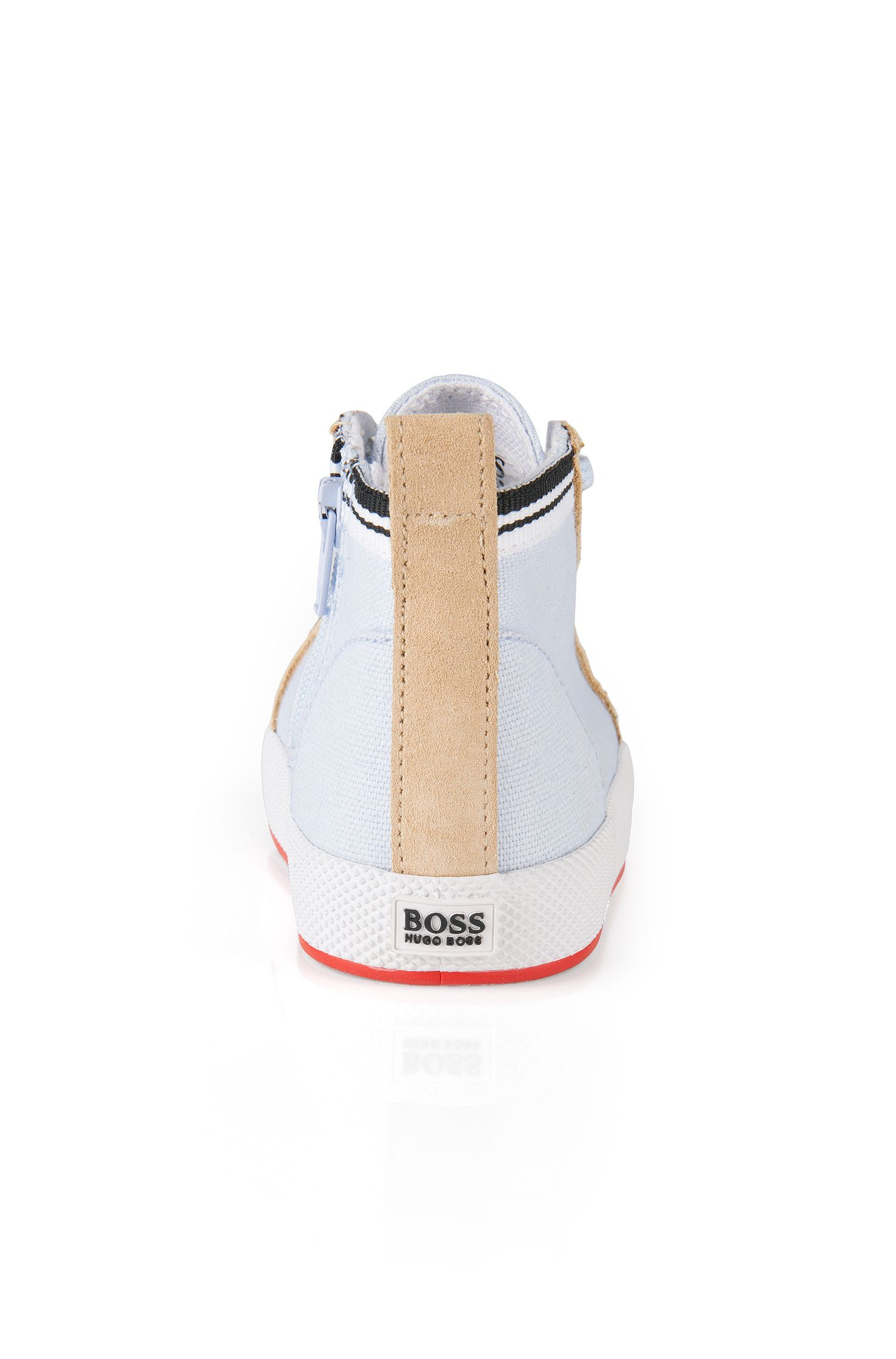 Schoenen om te leren lopen, met leerdetails: 'J09064'