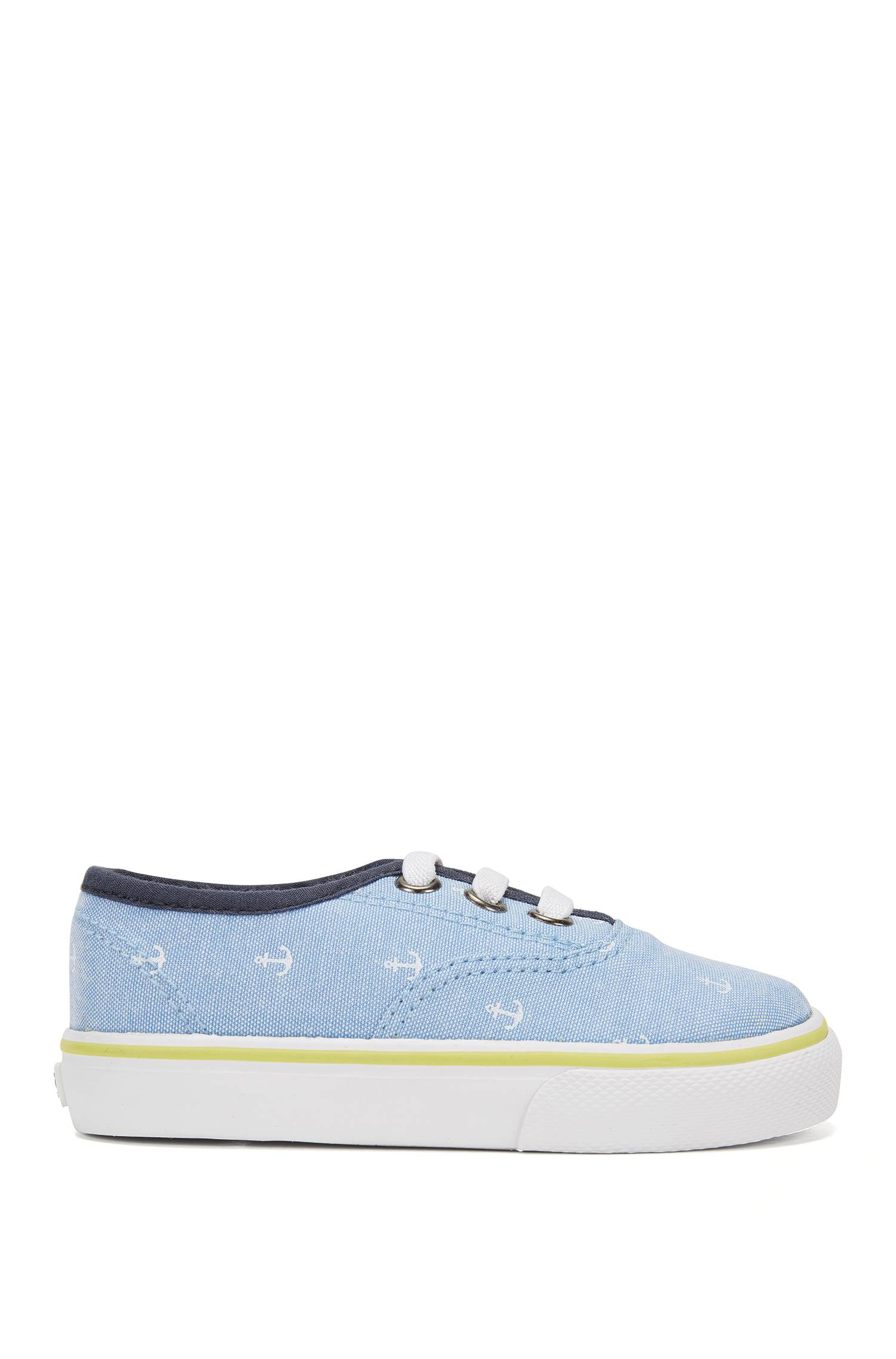Kids? trainers in printed canvas `J09090`