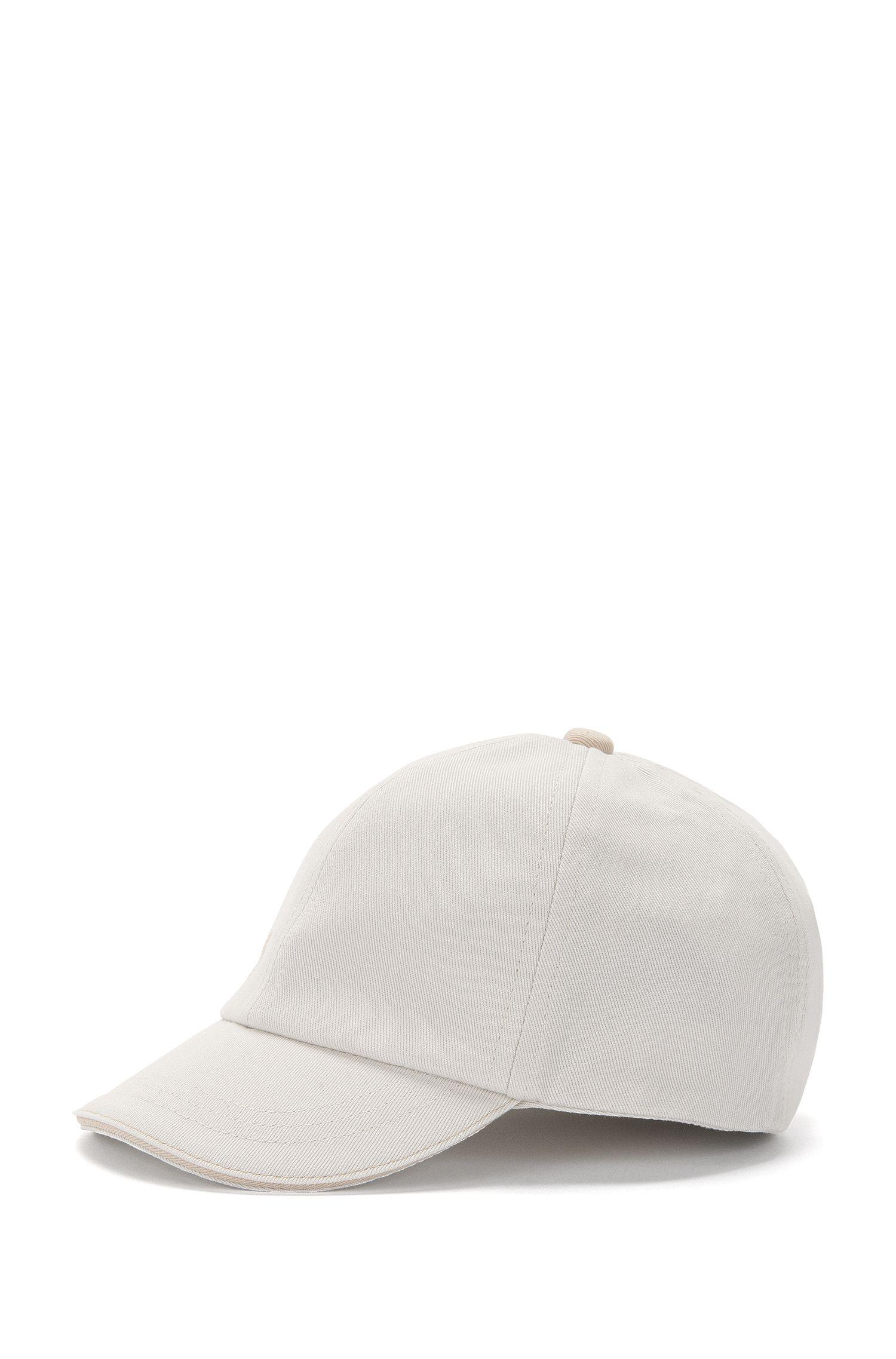 Cappellino da bambina in cotone in tinta unita: 'J11073'
